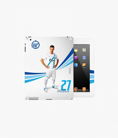 Denisov sticker for iPad2/3/4