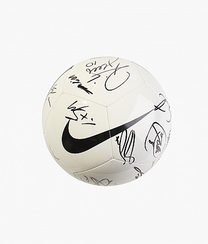 Ball with autograph