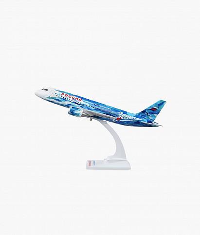 Модель самолета Airbus А319 масштаб 1:100