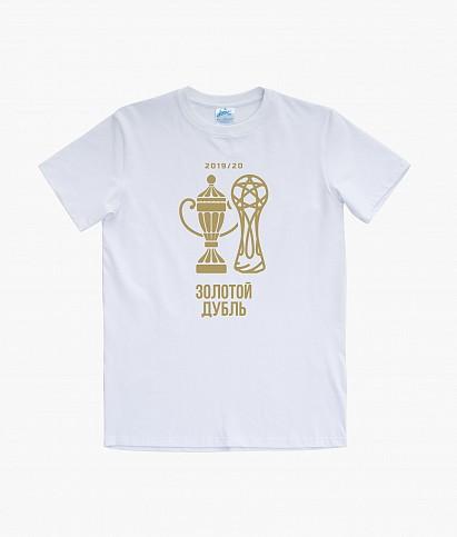 Футболка мужская «Золотой дубль»