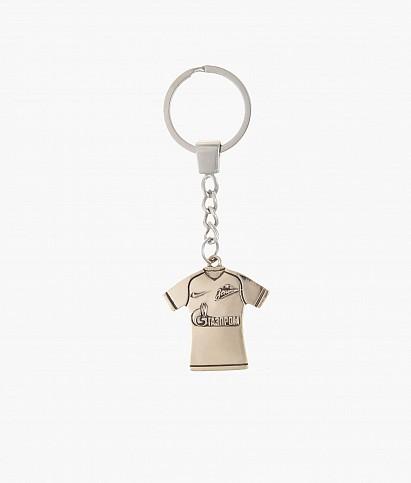 Брелок «Игровая футболка» бронза
