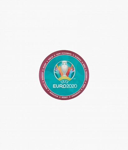 Значок закатной «Эмблема UEFA»
