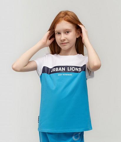Футболка для девочек «Urban Lions»