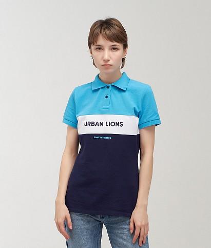 Поло женское «Urban Lions»