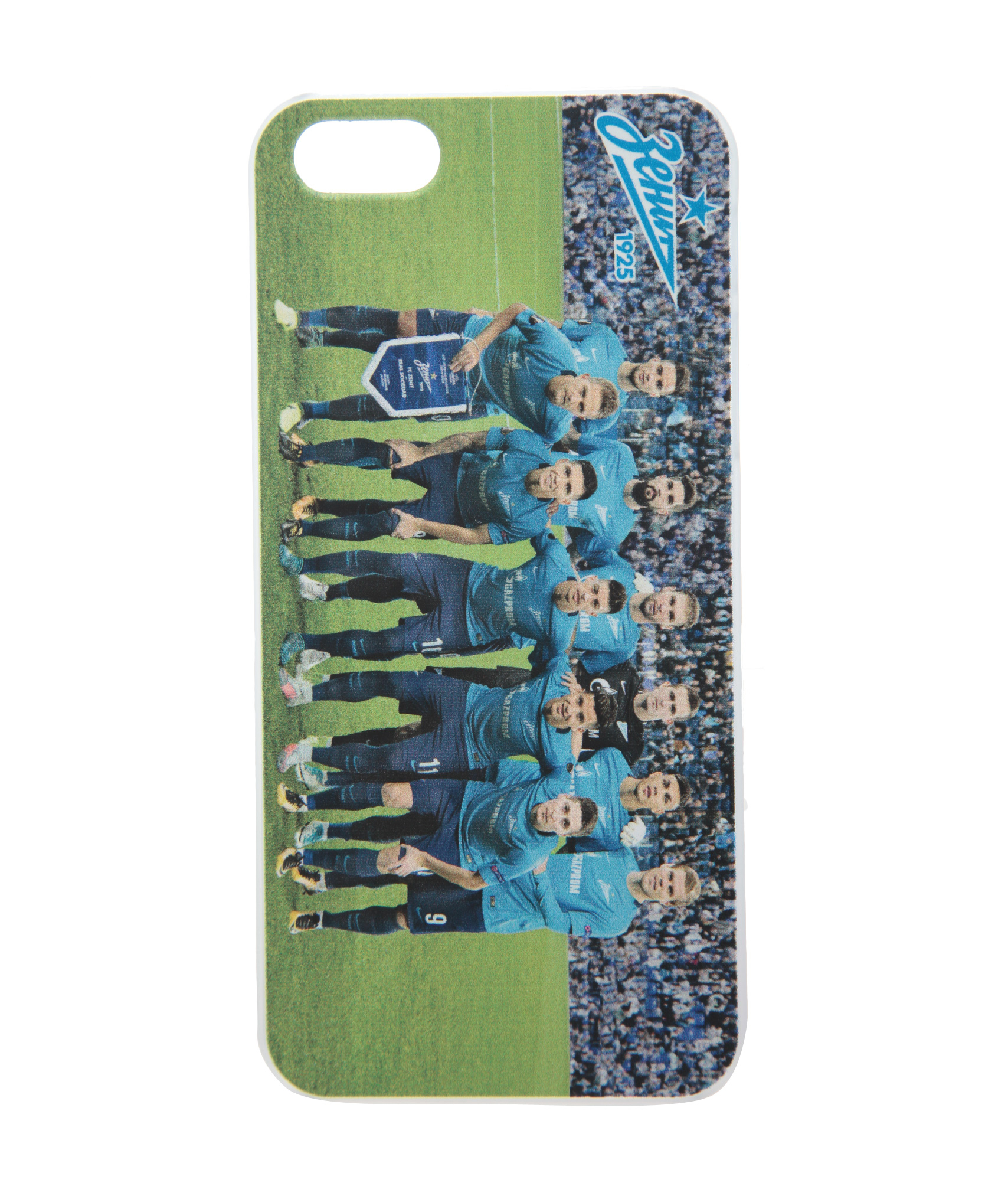 Чехол для IPhone 5/5S/SE «Команда 2017» Зенит клип кейс ibox crystal для iphone se 5 5s серый