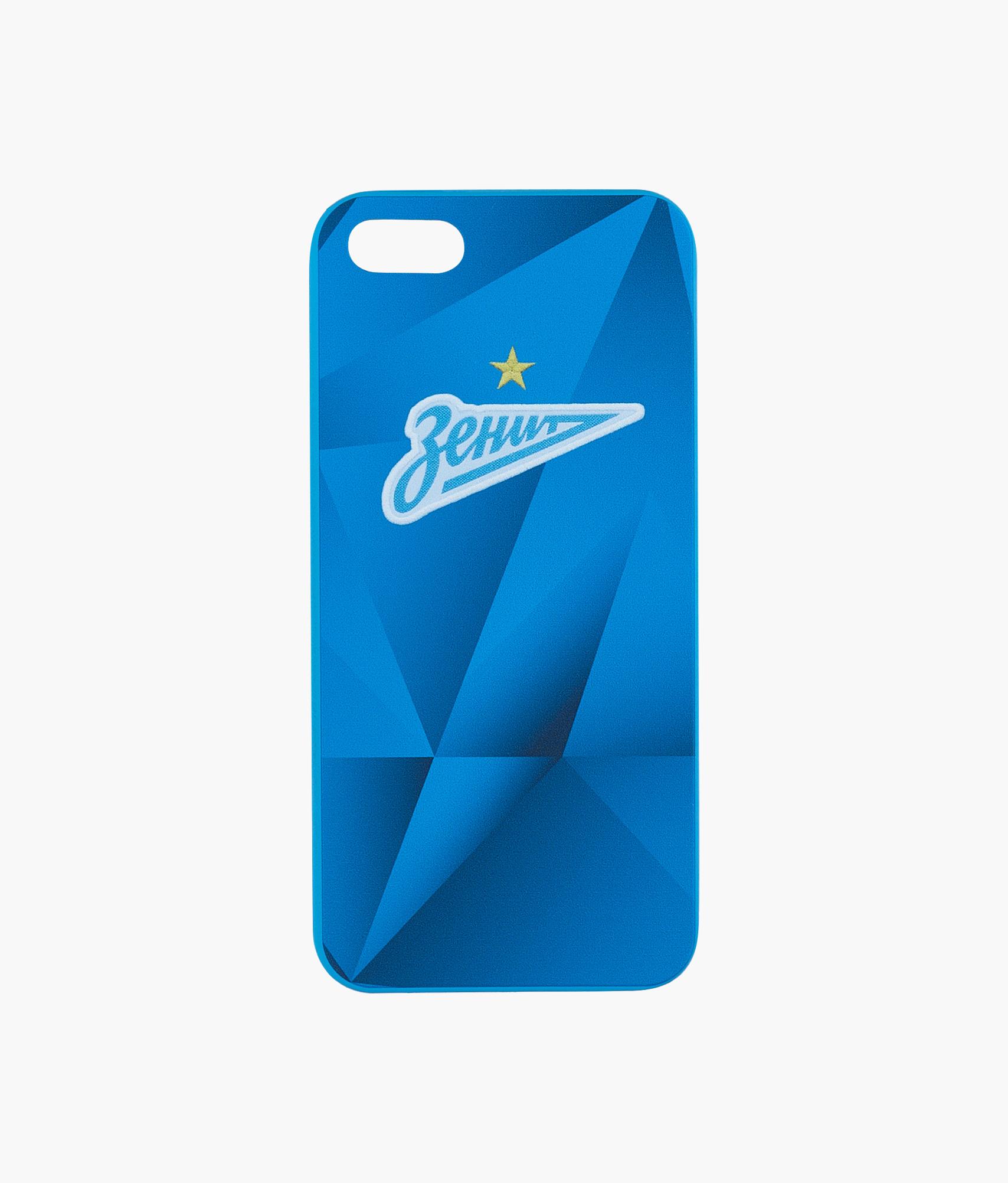 Фото - Чехол для IPhone 5/5S/SE «Форма 2019/20» Зенит Цвет-Синий платье coccodrillo одежда повседневная на каждый день