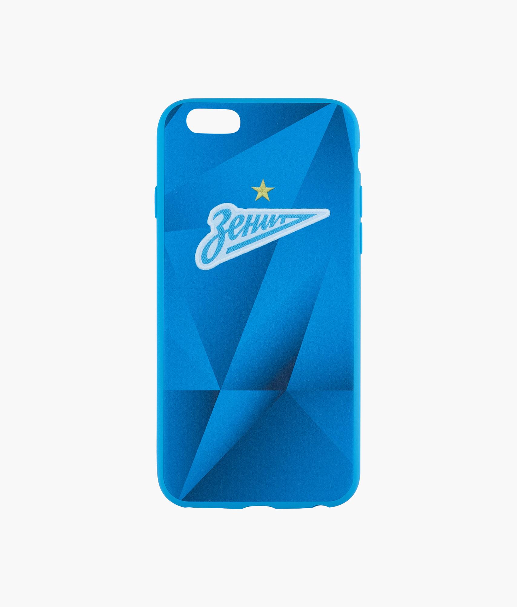 Фото - Чехол для IPhone 6/6S «Форма 2019/20» Зенит Цвет-Синий платье coccodrillo одежда повседневная на каждый день