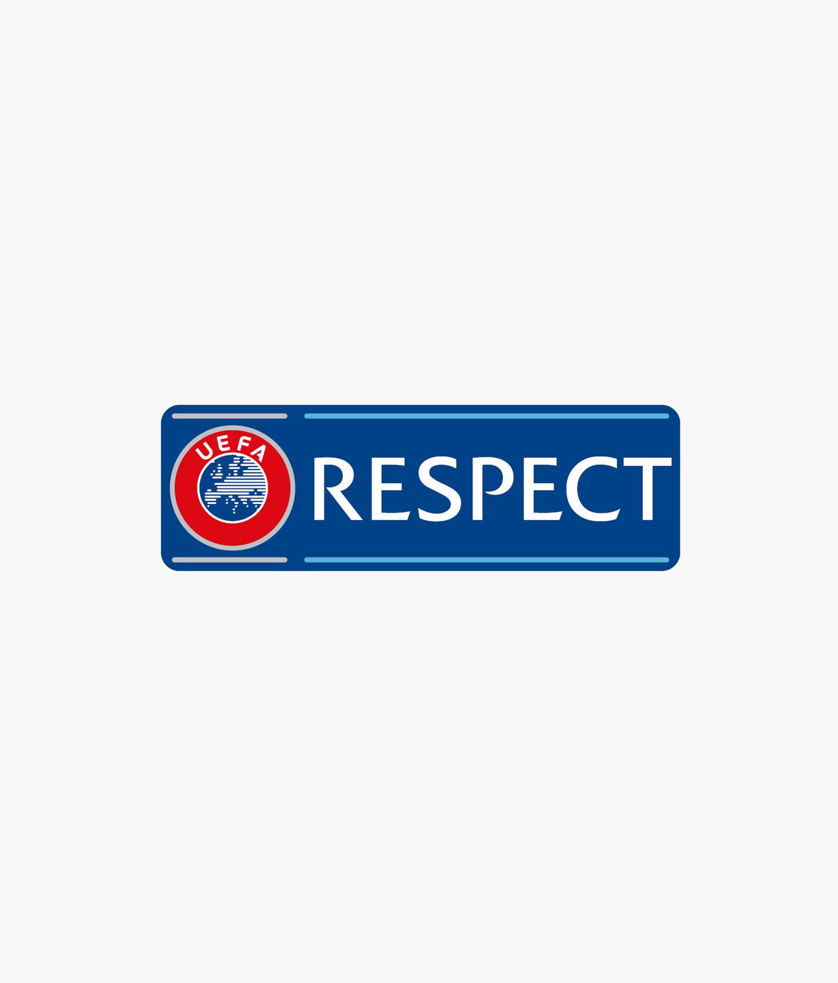 Бейдж «Respect» Зенит бейдж лига европы уефа зенит