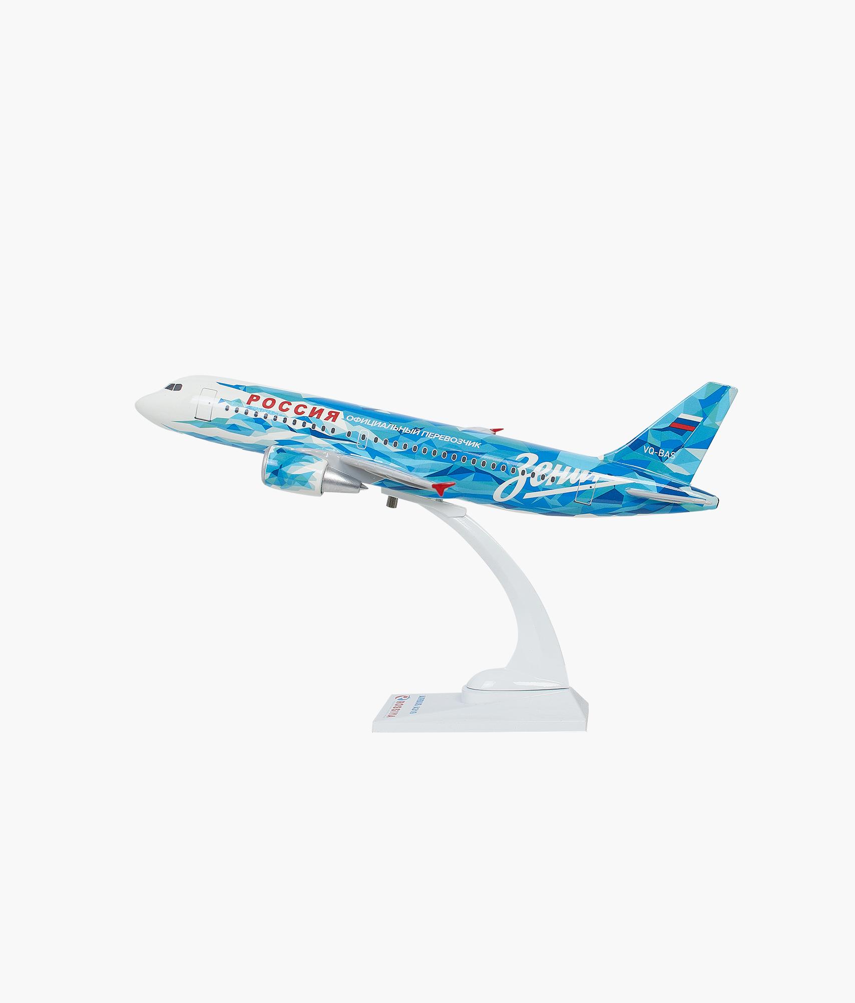 Модель самолета Airbus А319 масштаб 1:100 Зенит