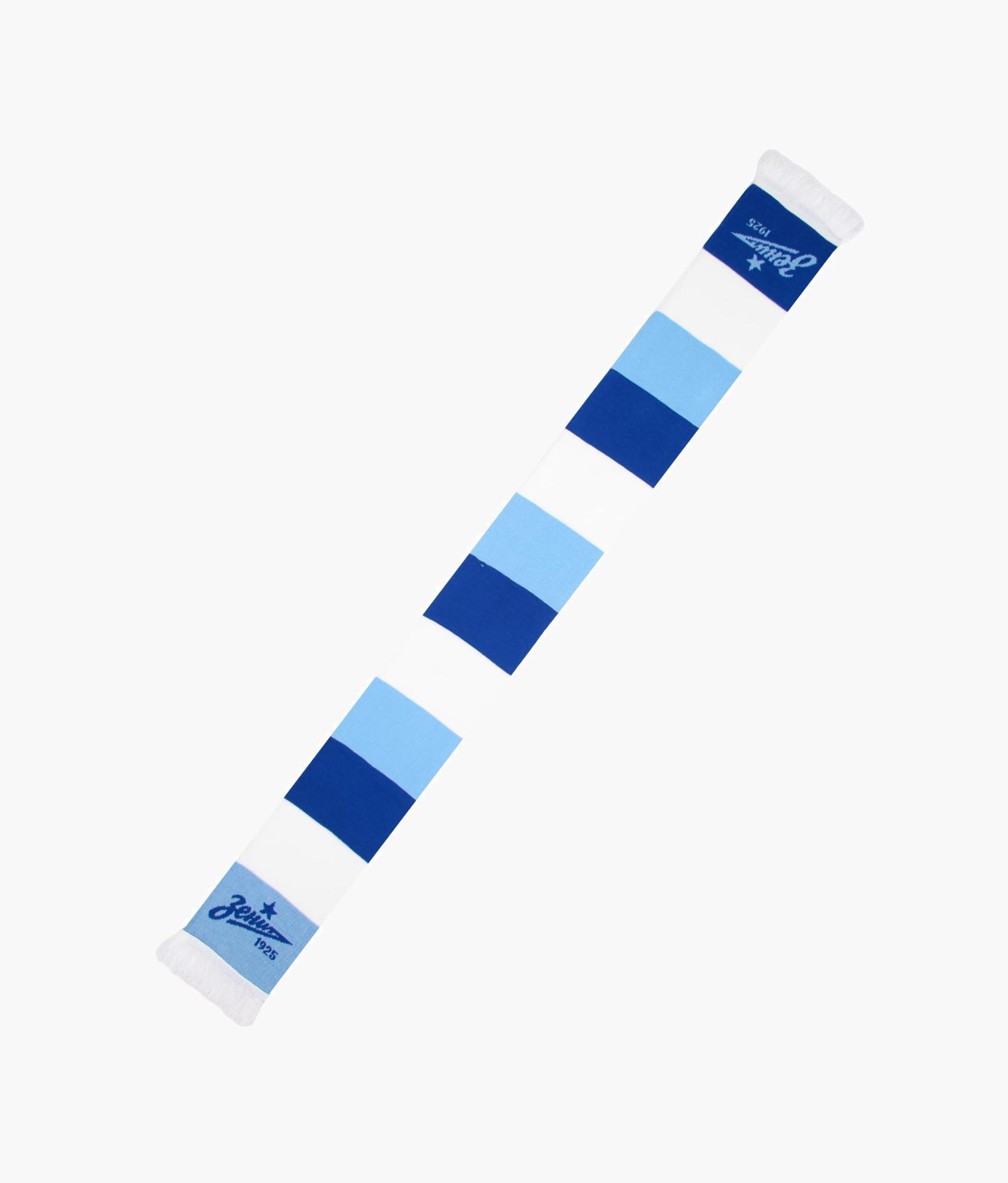 Шарф трикотажный «Полоска» Зенит s928 bluetooth gps реальное время пульс трек умный напульсник давление воздуха окружающей среды температура высота часы