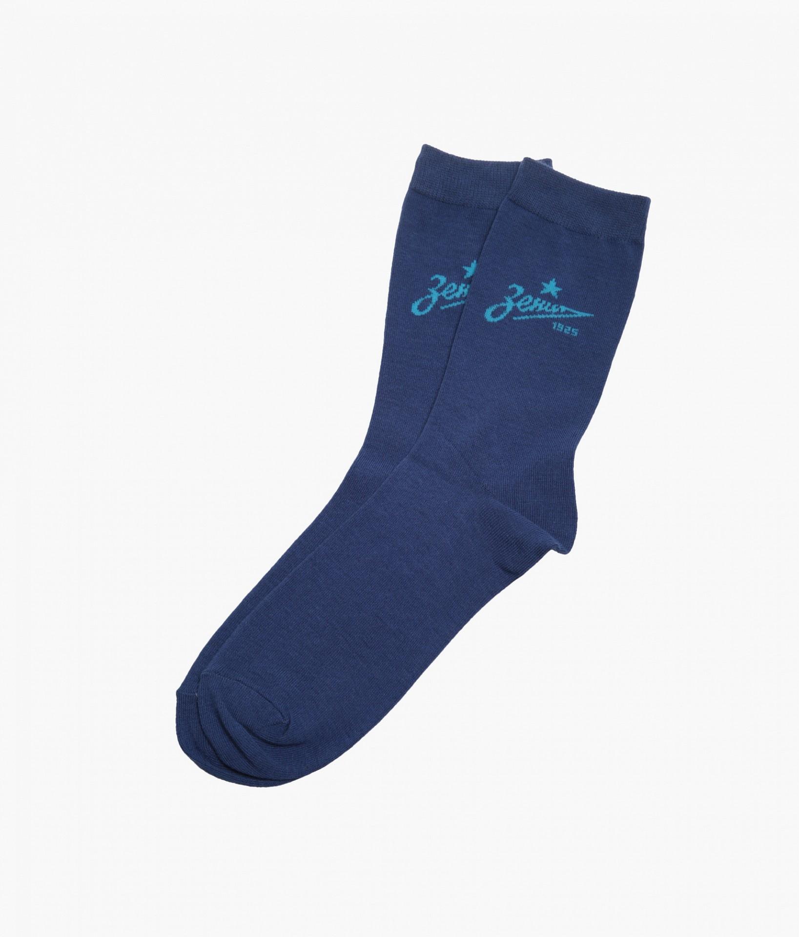 Фото - Носки мужские Зенит Цвет-Темно-Синий носки мужские стильная шерсть цвет темно серый белый 618 1с47 125 размер 29