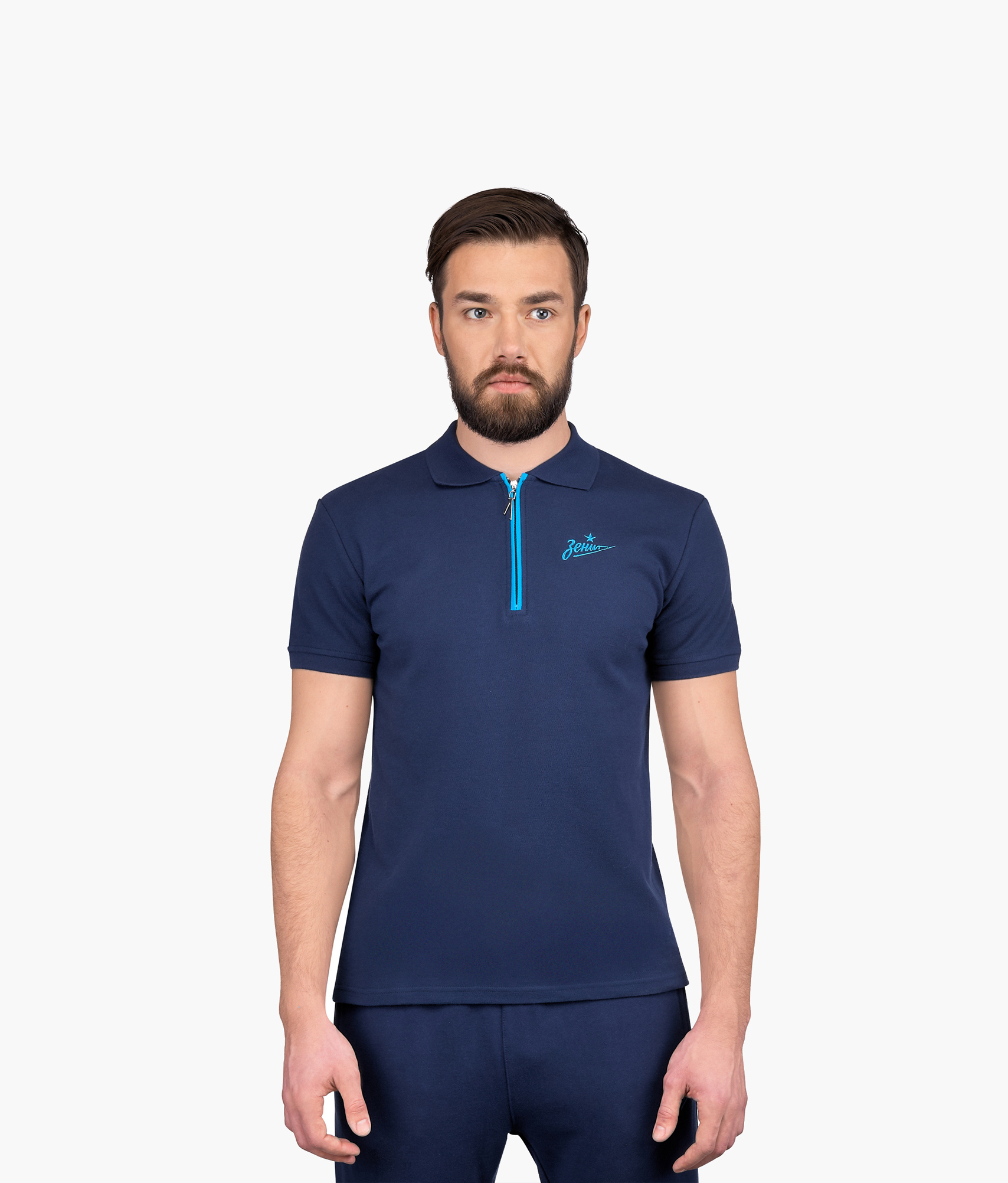 Поло мужское Зенит Зенит Цвет-Синий шорты детские зенит цвет синий