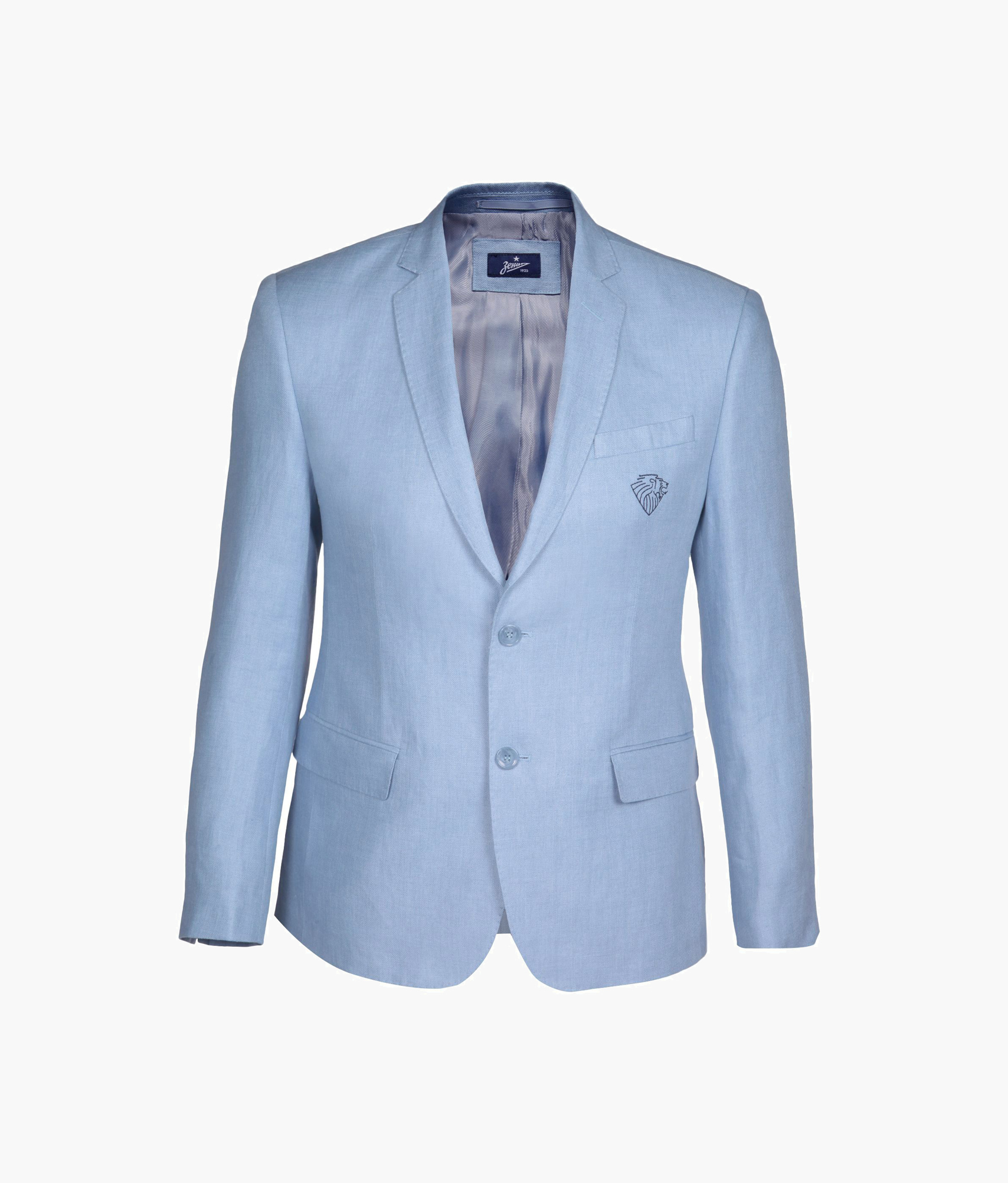 Пиджак мужской Зенит Цвет-Голубой пиджак wessi wessi mp002xm20su4