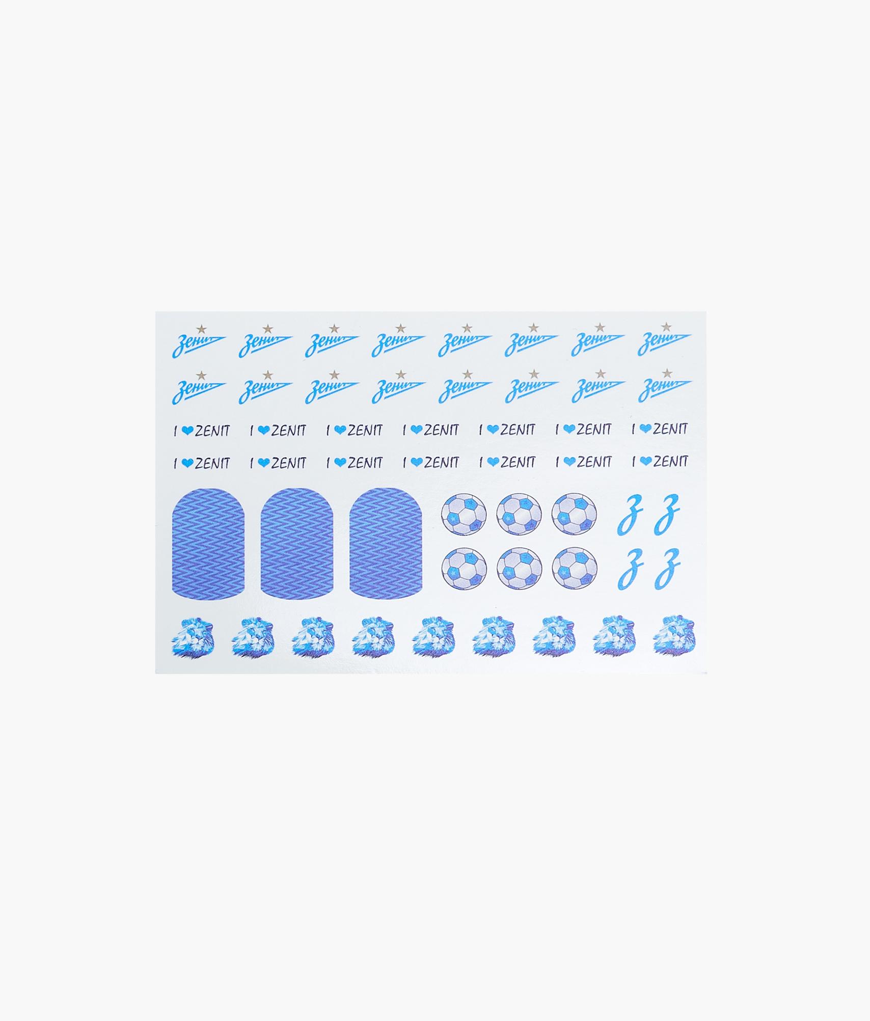 Слайдер-дизайн для ногтей Зенит