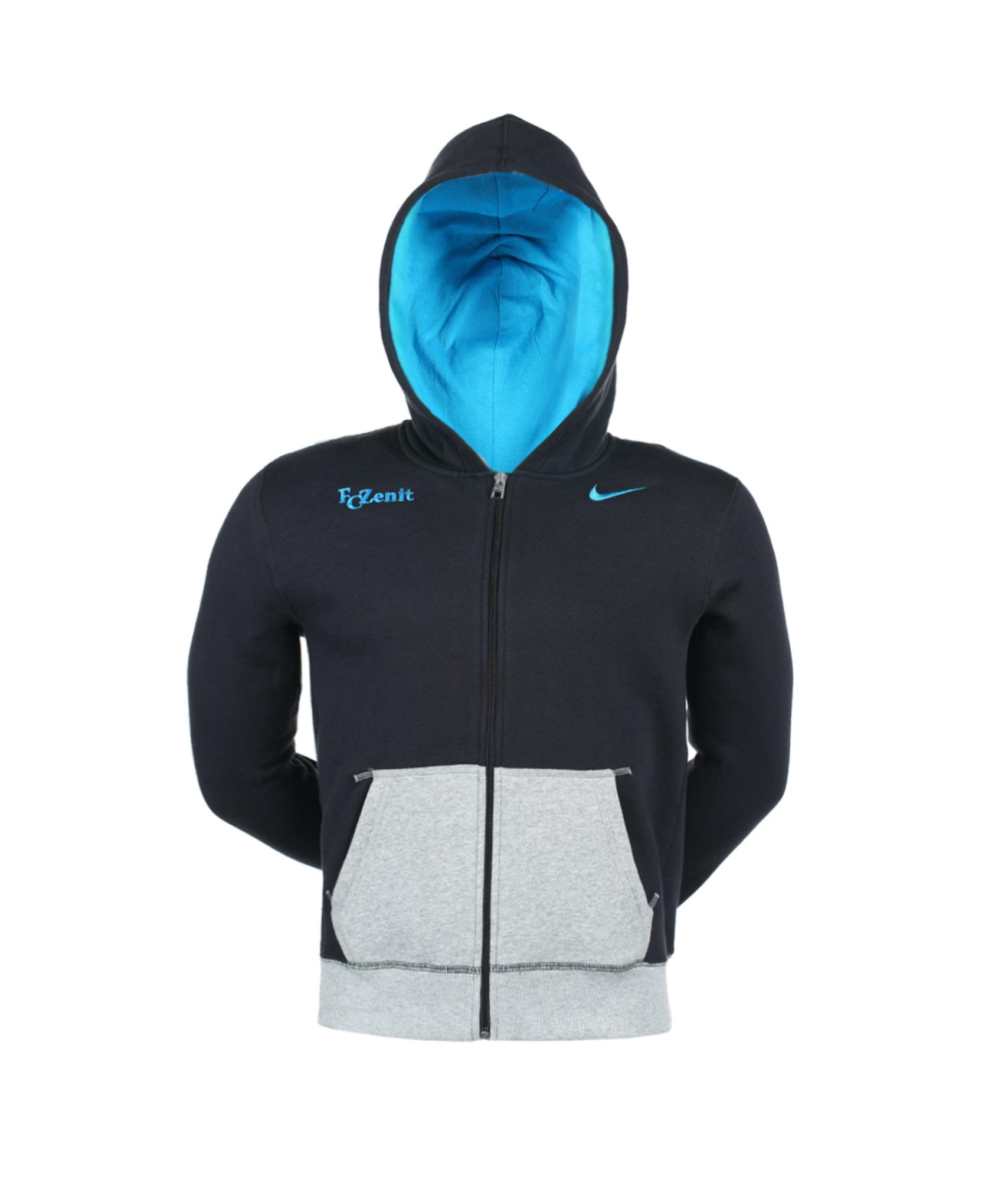 Толстовка Nike YA76 BF FZ HDY-BK, Цвет-Черный, Размер-XL