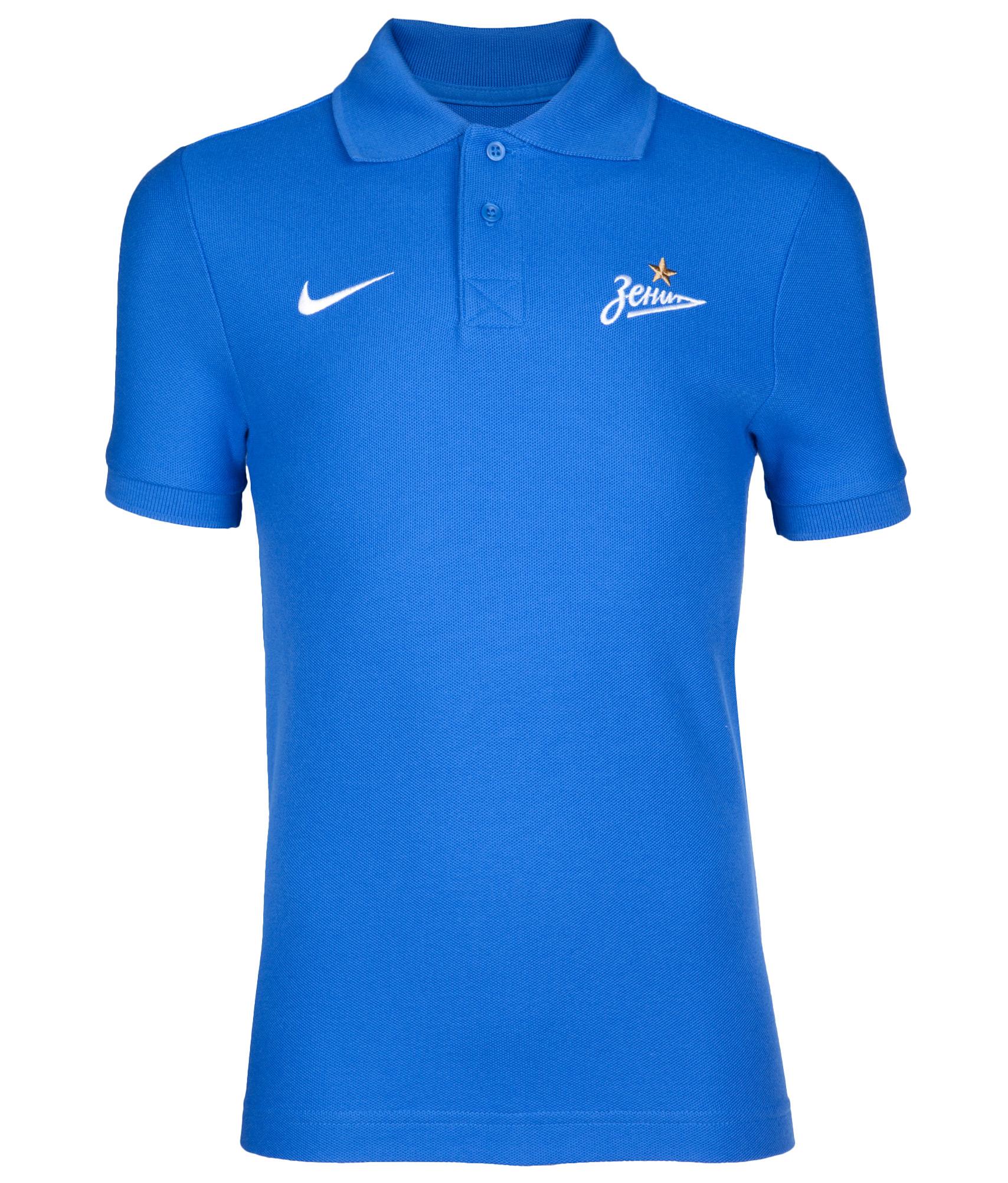 Поло подростковое Nike, Цвет-Синий, Размер-XS поло nike цвет голубой размер m