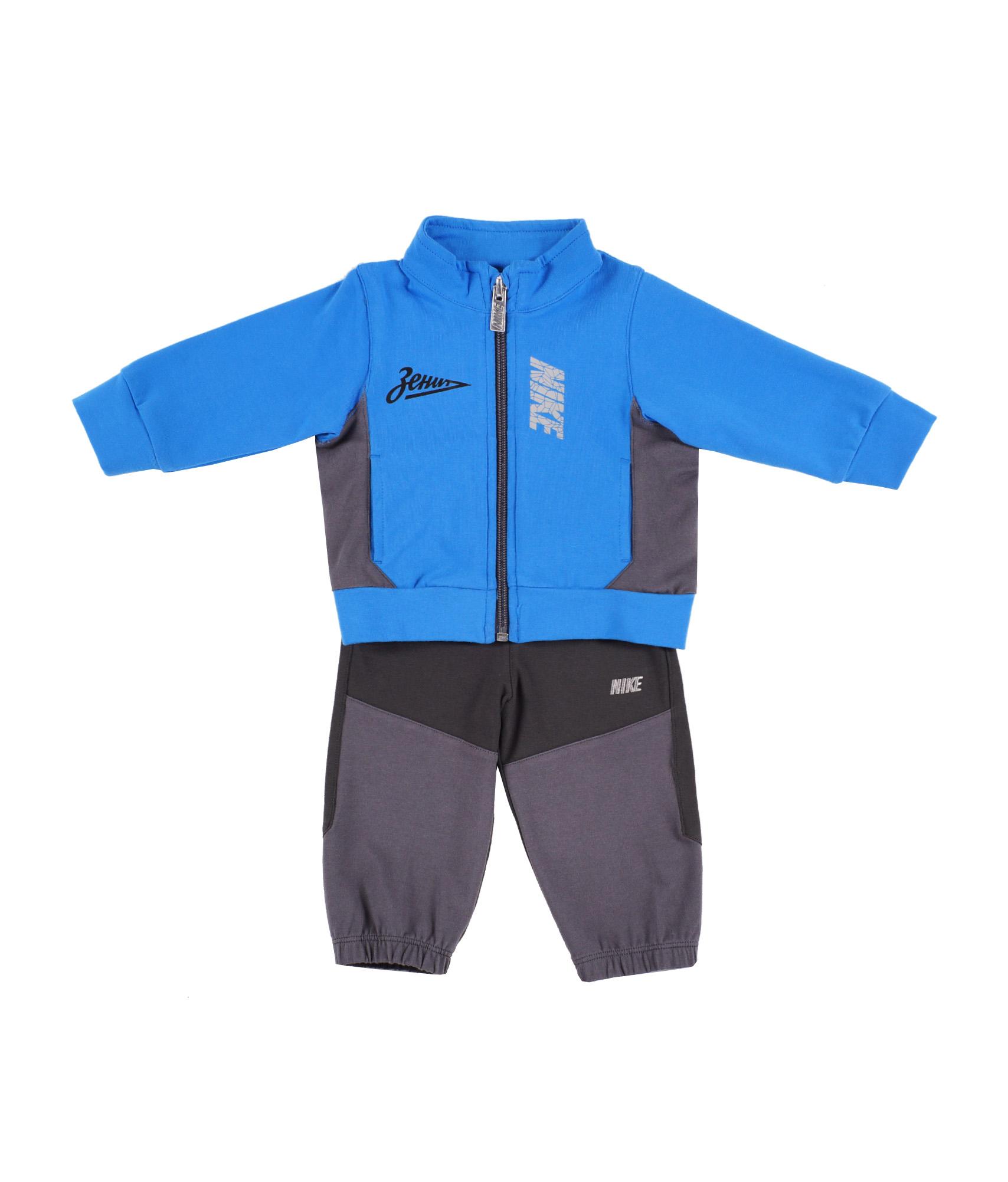 Костюм для малышей Nike MOD SP J CREW WARM UP , Цвет-Синий, Размер-9-12