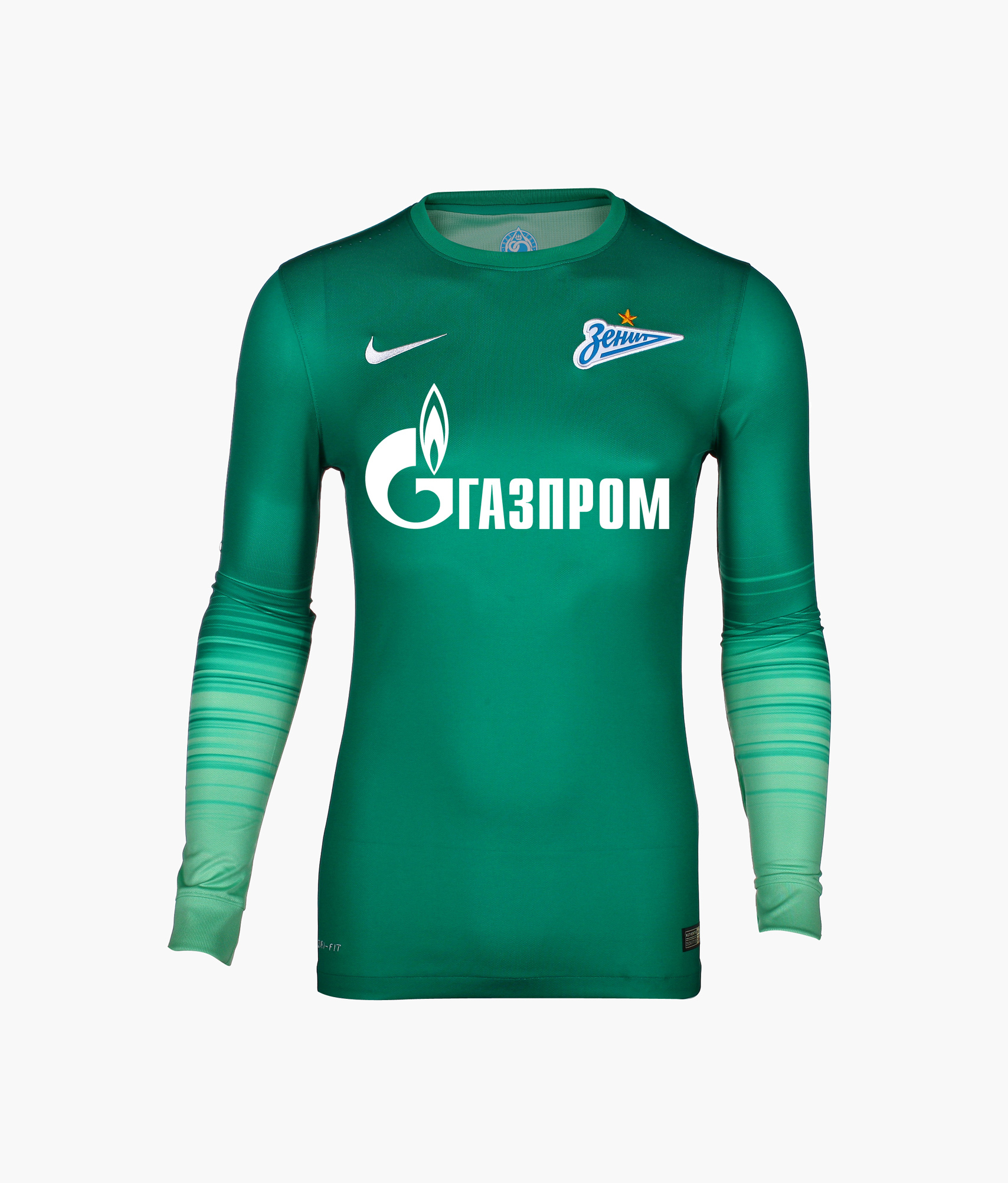Оригинальная вратарская футболка Nike Nike Цвет-Зеленый футболка вратарская подростковая сезона 2018 2019 nike цвет желтый