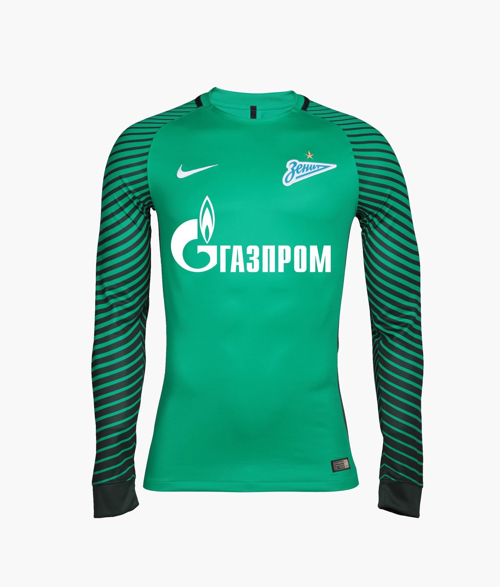 Оригинальная вратарская футболка Nike Nike Цвет-Зеленый