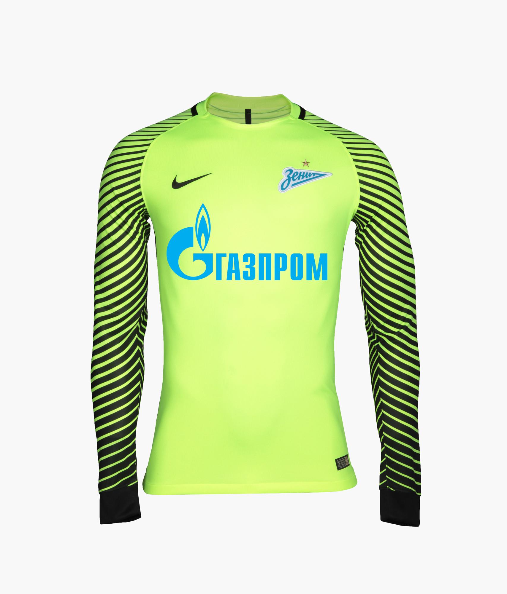 Оригинальная вратарская футболка Nike Nike Цвет-Желтый футболка вратарская подростковая сезона 2018 2019 nike цвет желтый