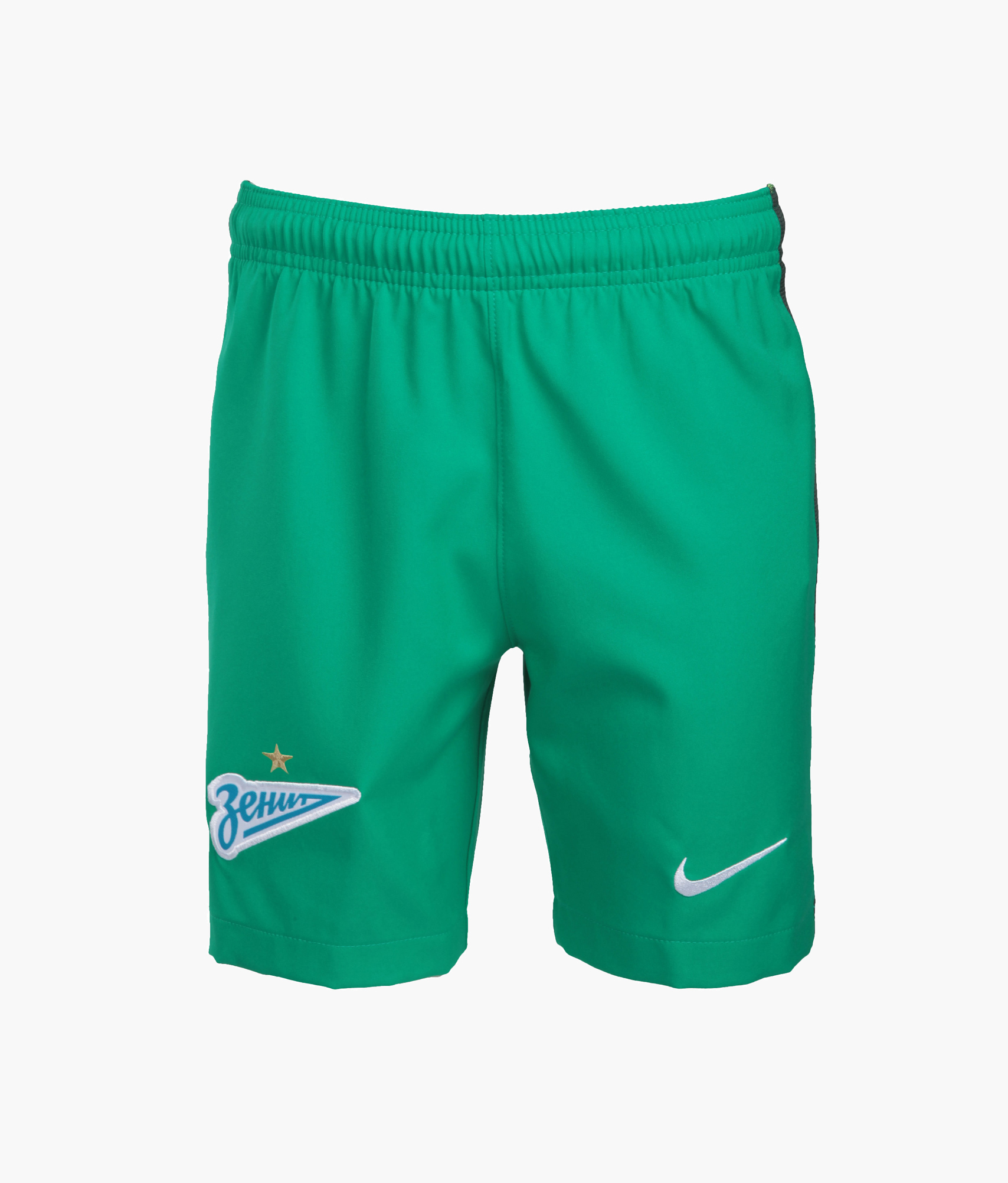 Детские вратарские шорты Nike  Цвет-Зеленый