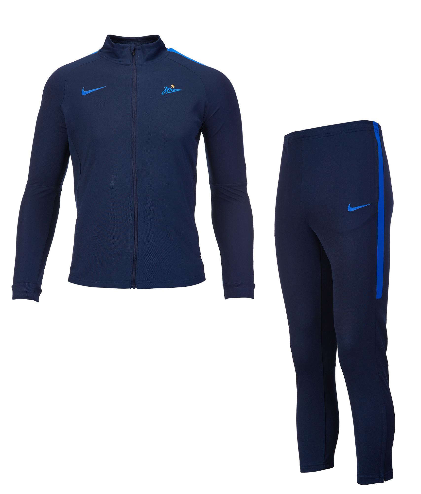 Спортивный костюм подростковый Nike Zenit Nike Цвет-Синий шорты тренировочные подростковые nike zenit 2018 19 nike