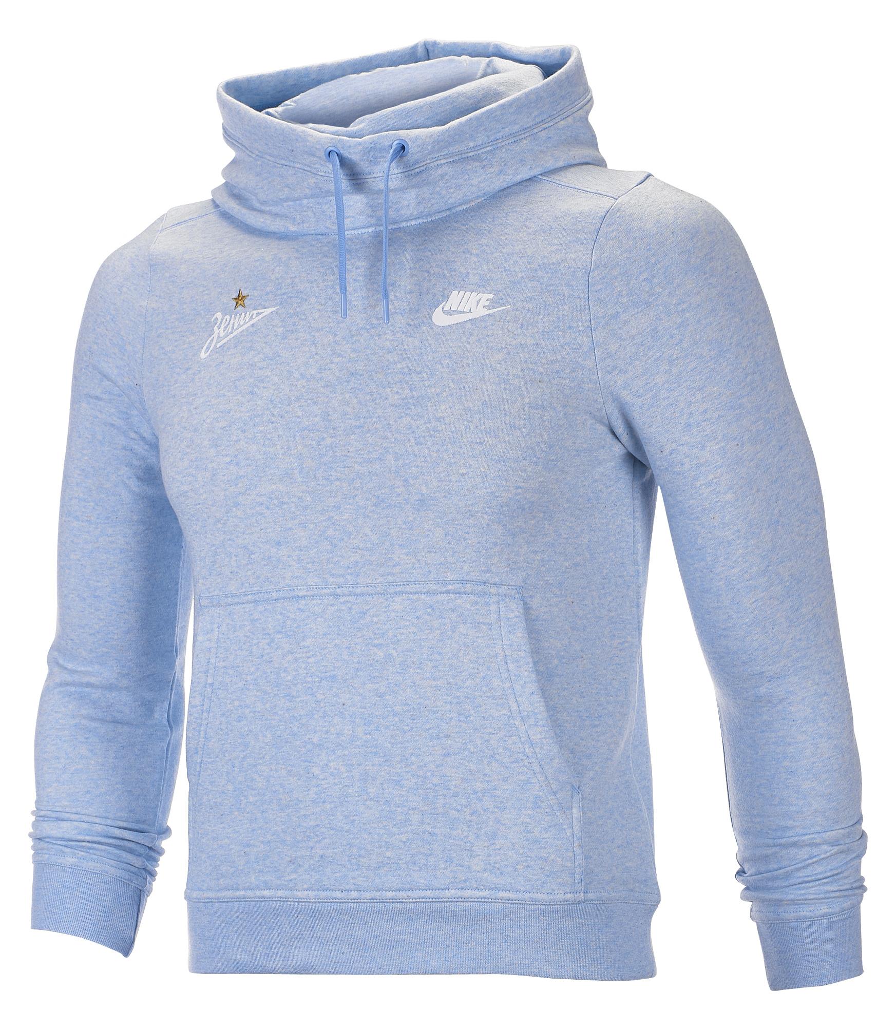 Толстовка женская Nike  Цвет-Голубой