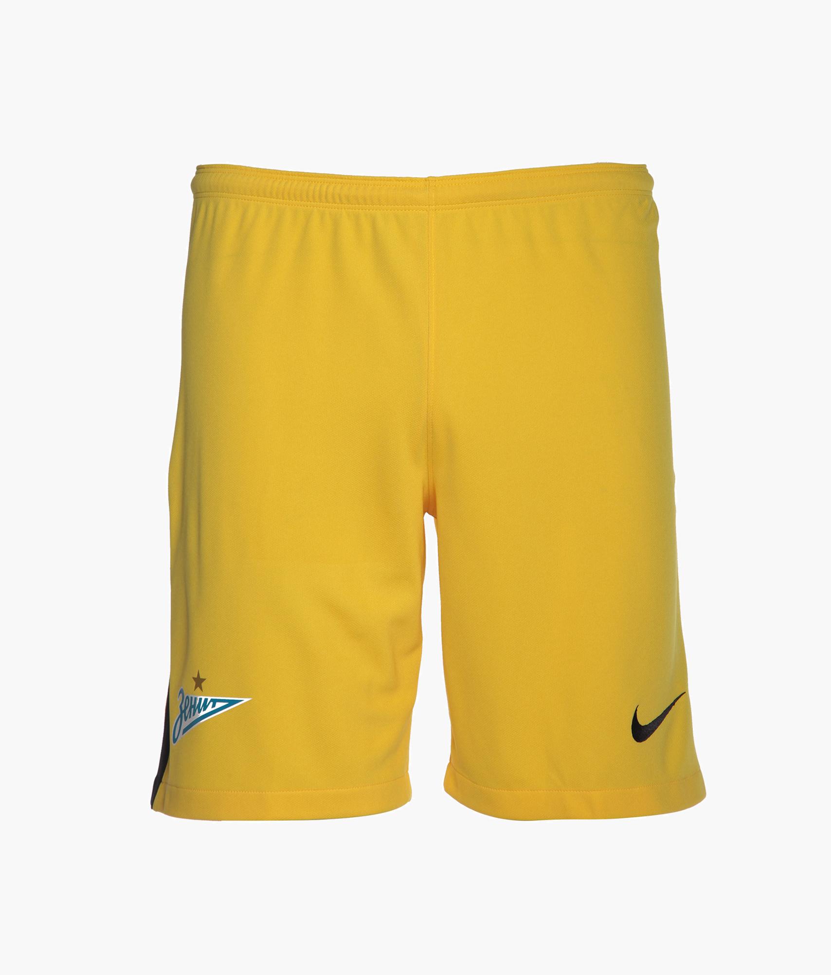Шорты вратарские Nike сезона 2017/2018  Цвет-Желтый
