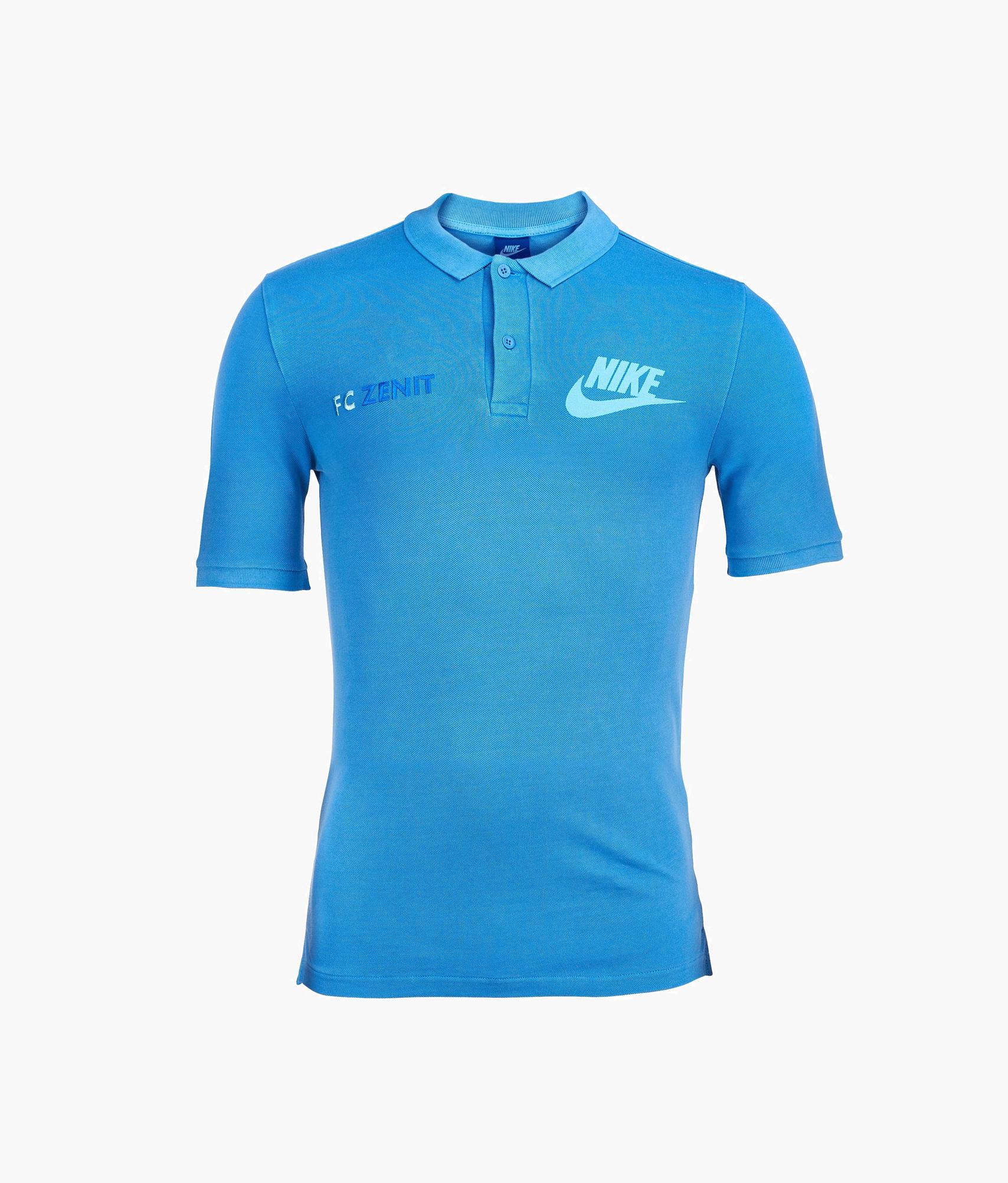 Поло Nike Nike Цвет-Лазурный