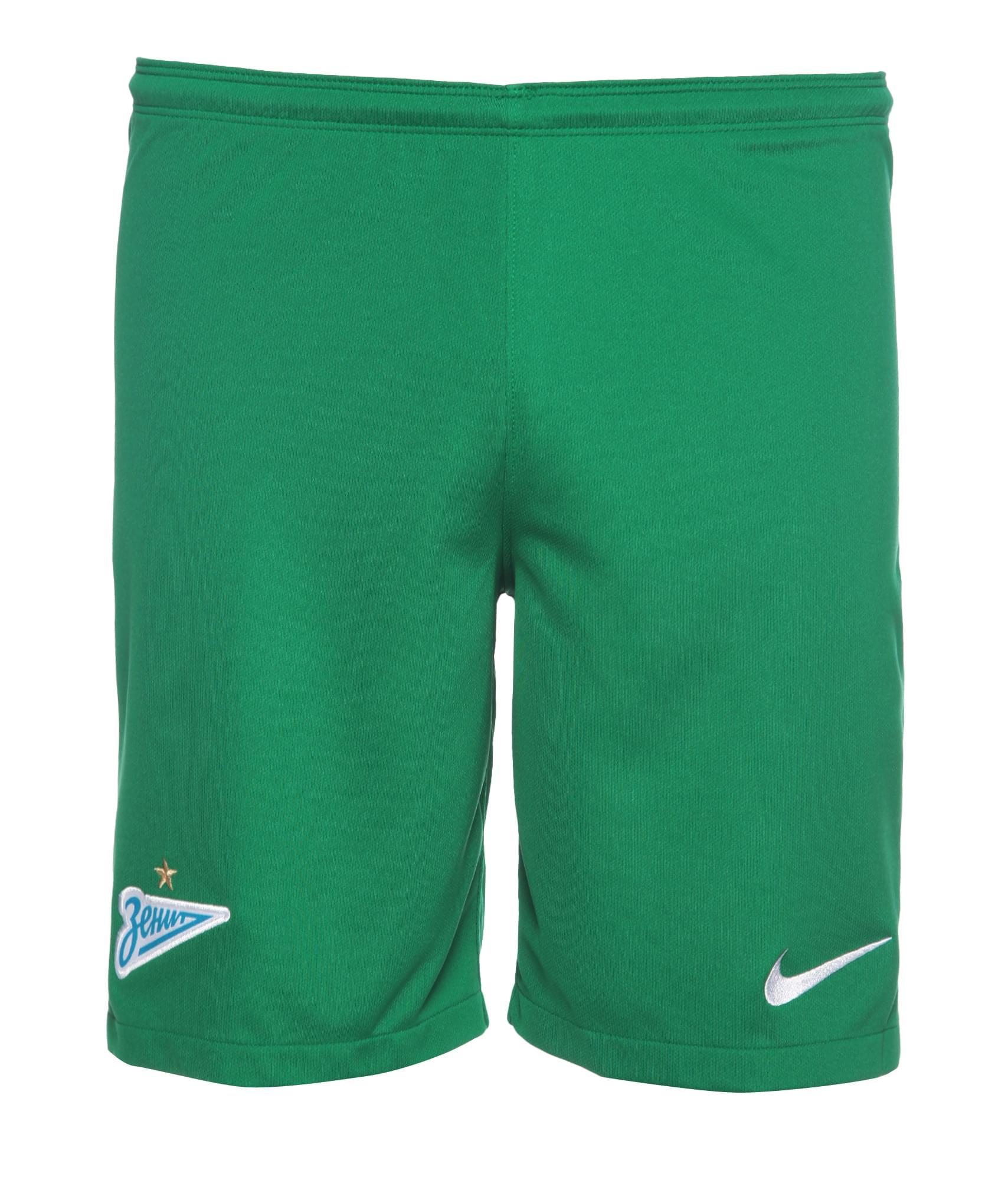 Шорты вратарские Nike сезона 2017/2018 Nike Цвет-Зеленый