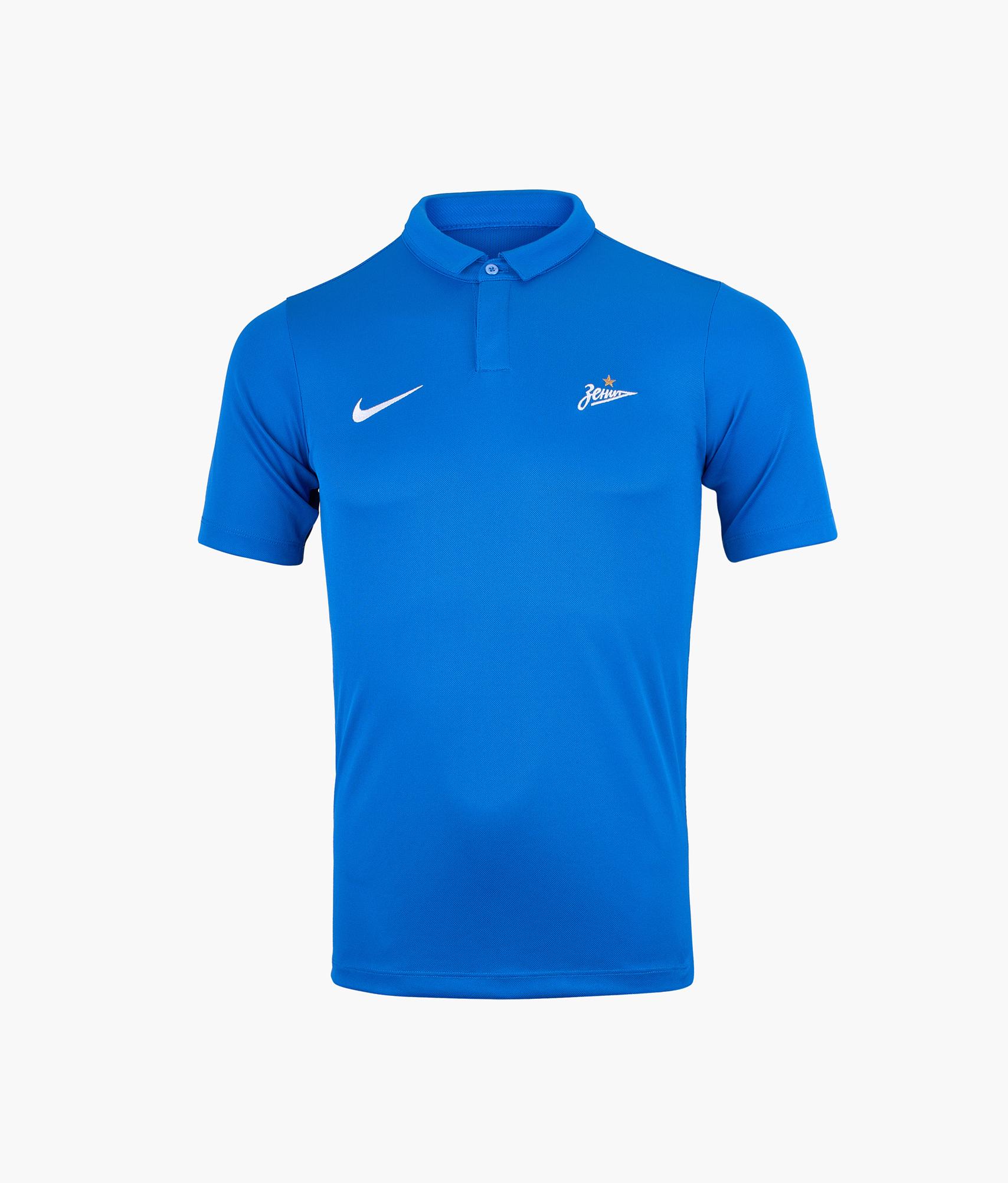 Поло подростковое Nike Nike Цвет-Синий цена 2017
