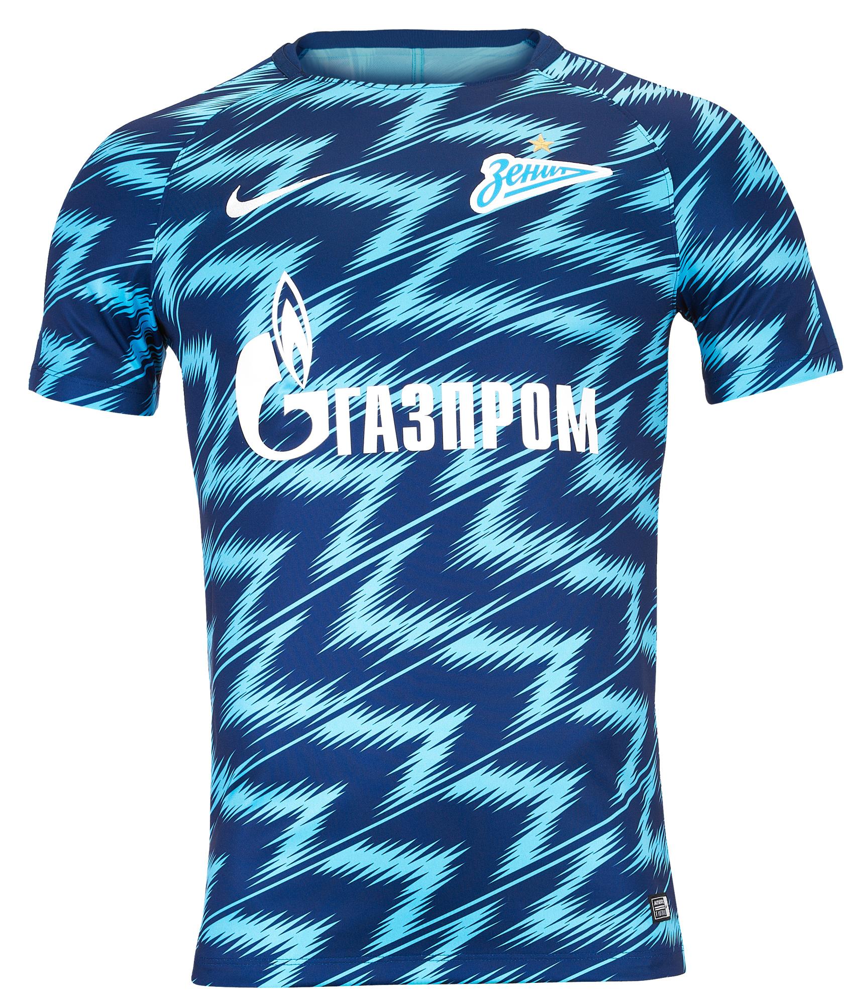 Предыгровая футболка Nike Zenit 2018/19