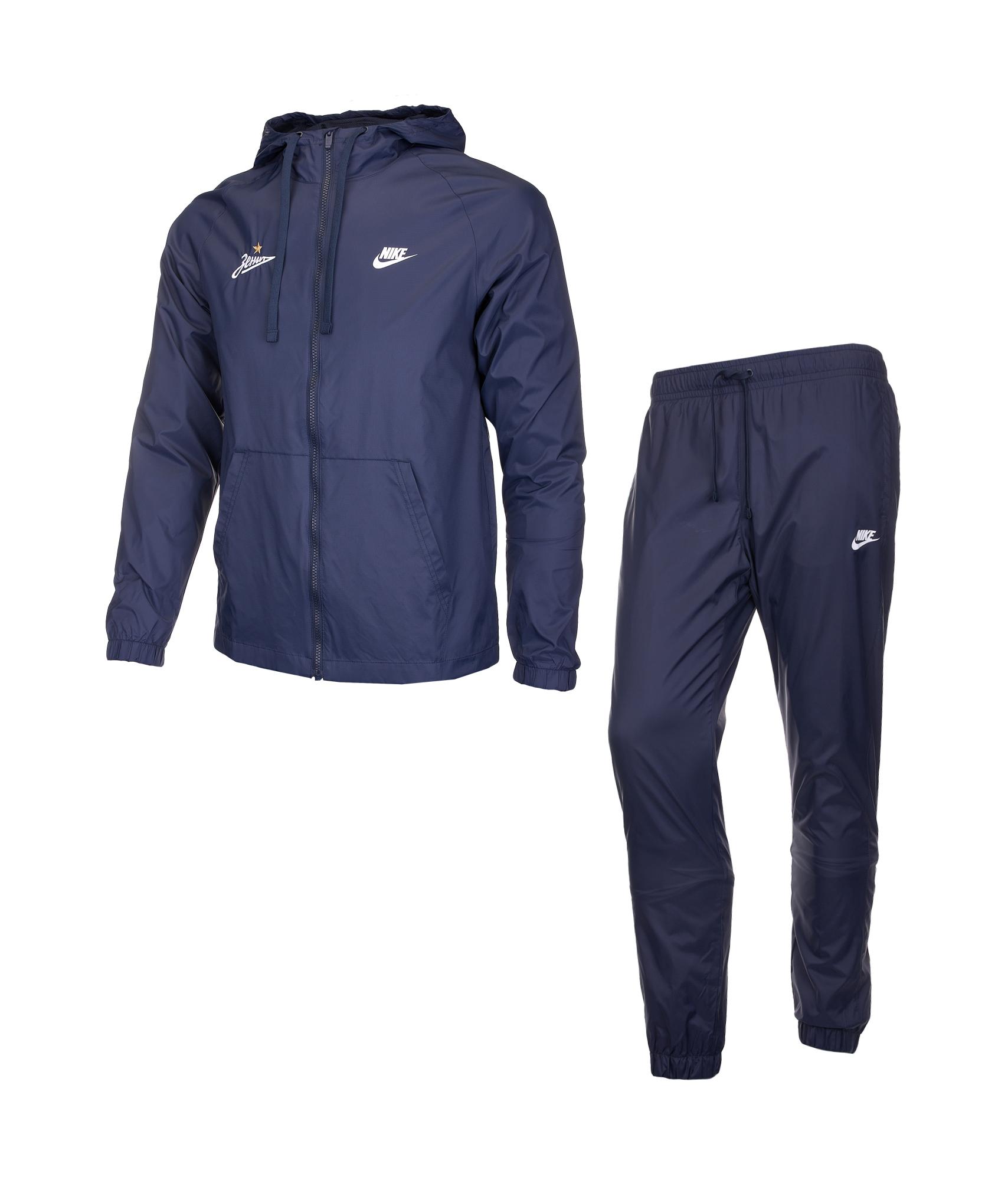 Спортивный костюм Nike Nike Цвет-Темно-Синий костюм спортивный nike squad 859281 010