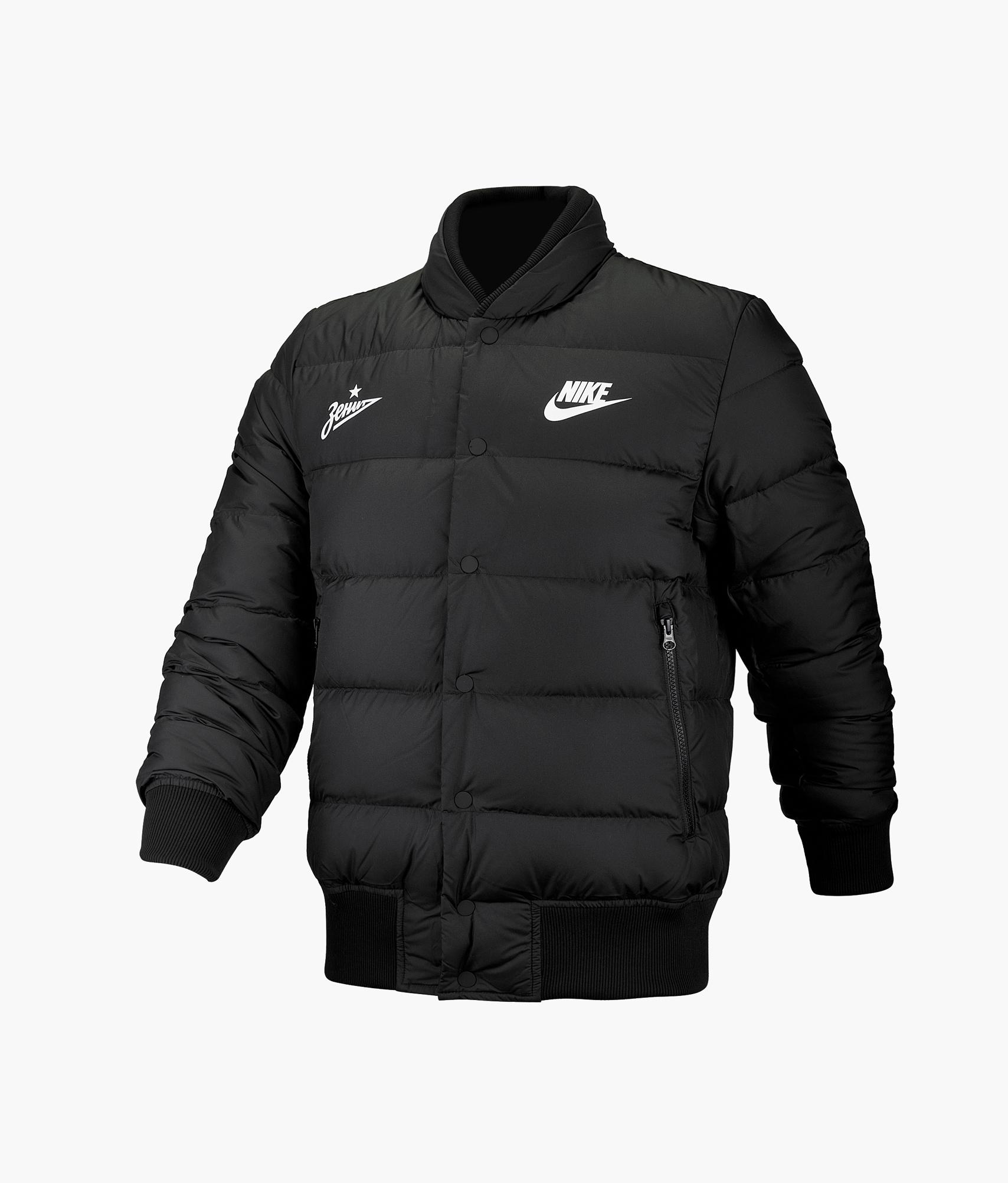 Пуховик-бомбер Nike Цвет-Черный