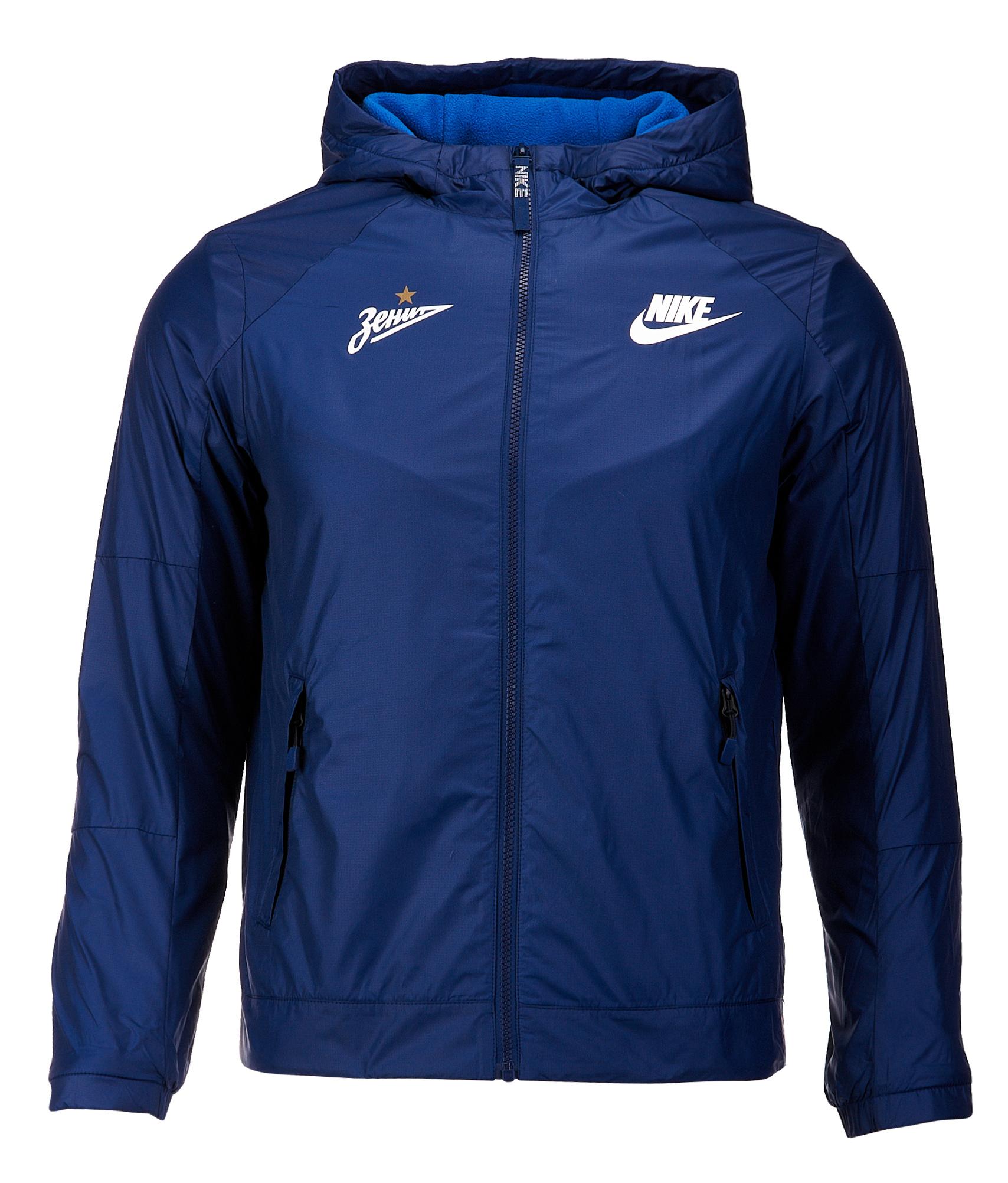 Куртка подростковая Nike Nike Цвет-Темно-Синий цена 2017