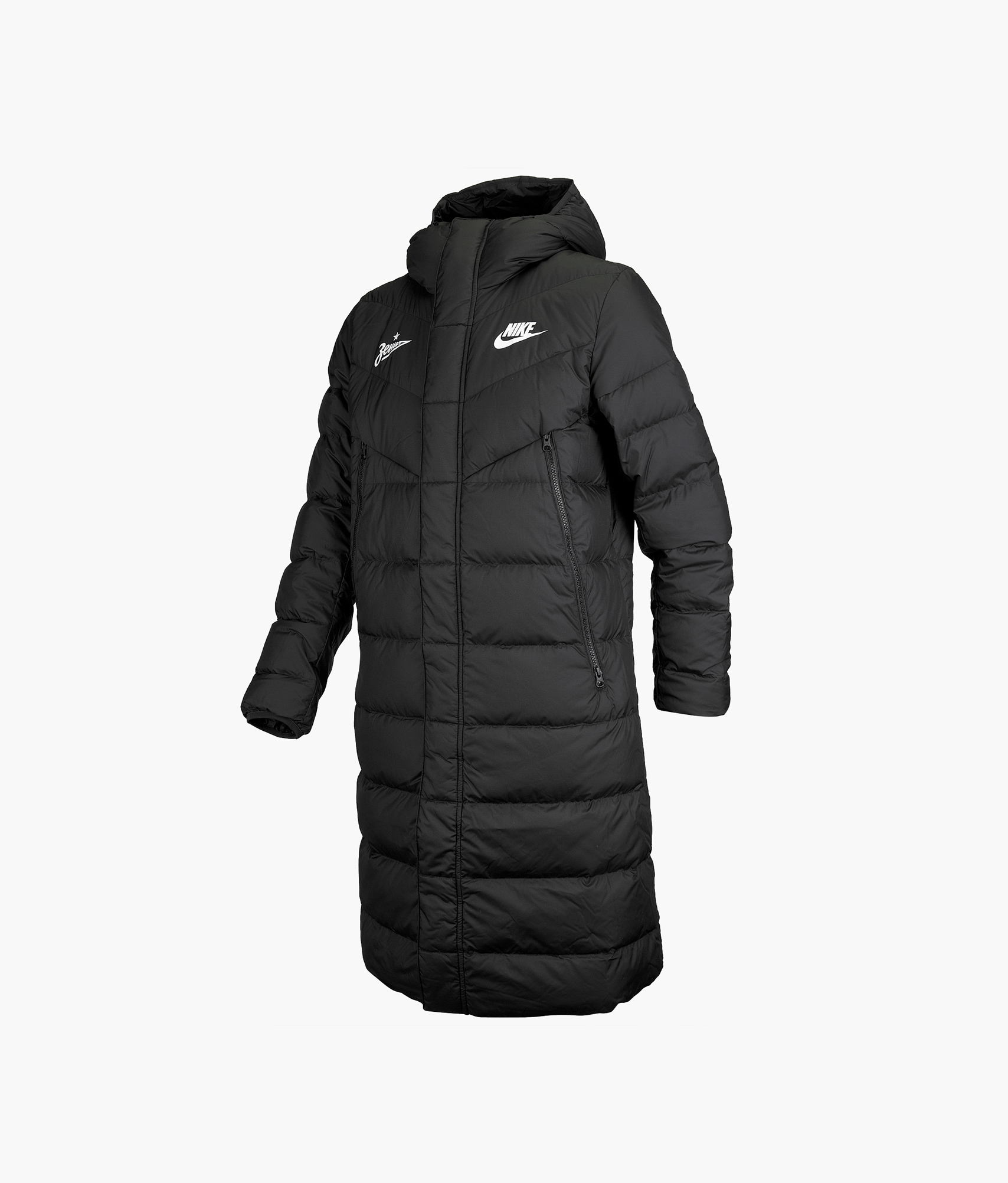 Пуховик мужской Nike Nike Цвет-Черный