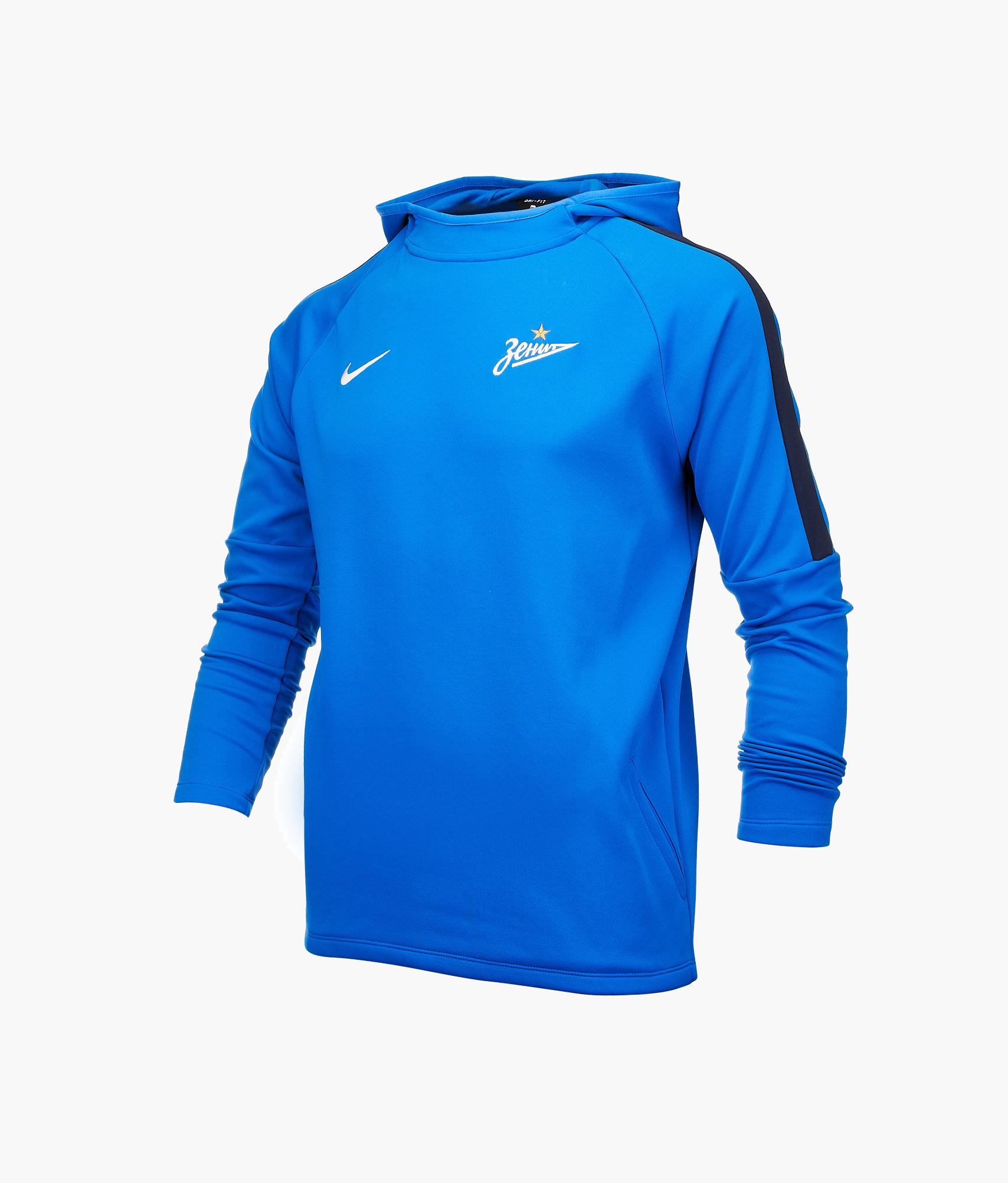 Толстовка подростковая Nike Nike Цвет-Синий