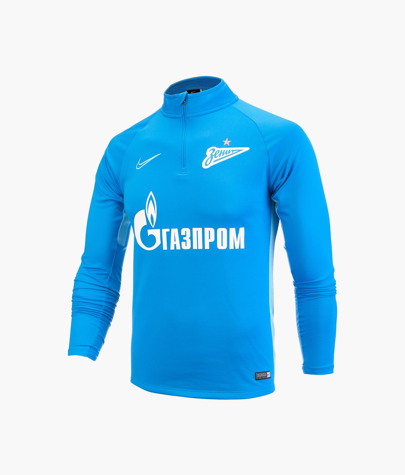 Джемпер тренировочный Nike Zenit 2019/20 Nike Цвет-Синий