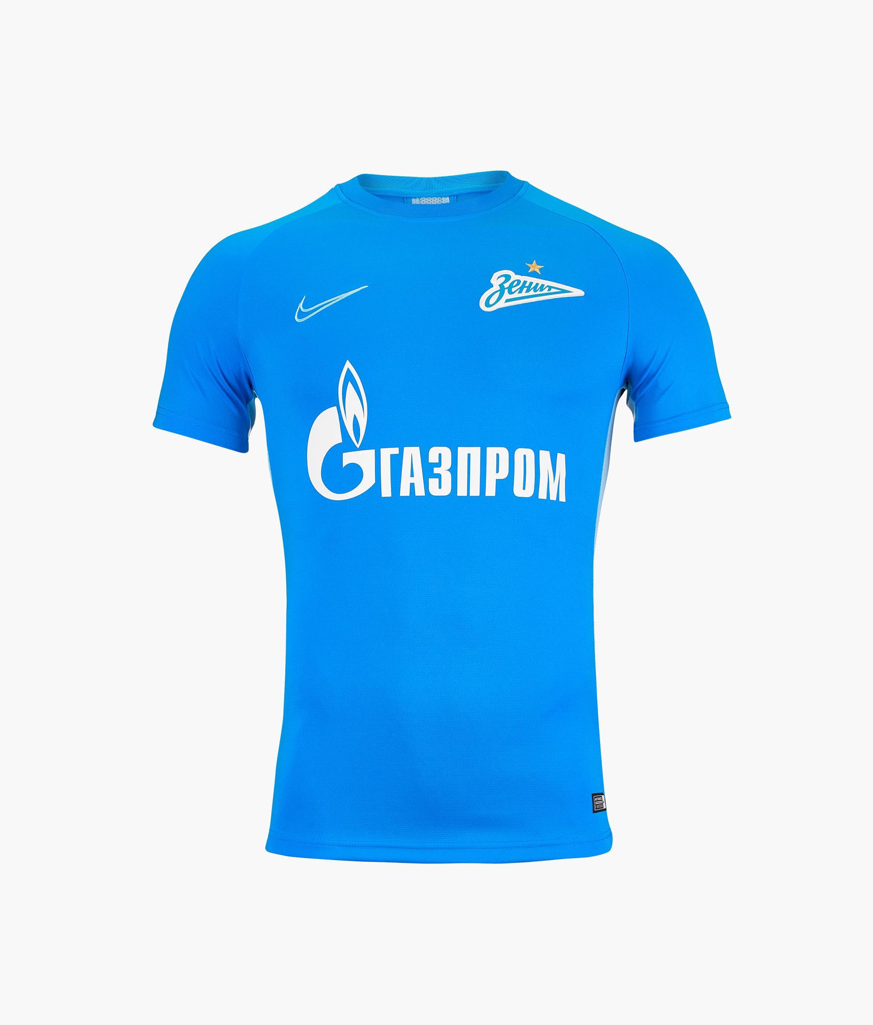 Футболка тренировочная Nike Zenit 2019/20 Nike Цвет-Синий цена