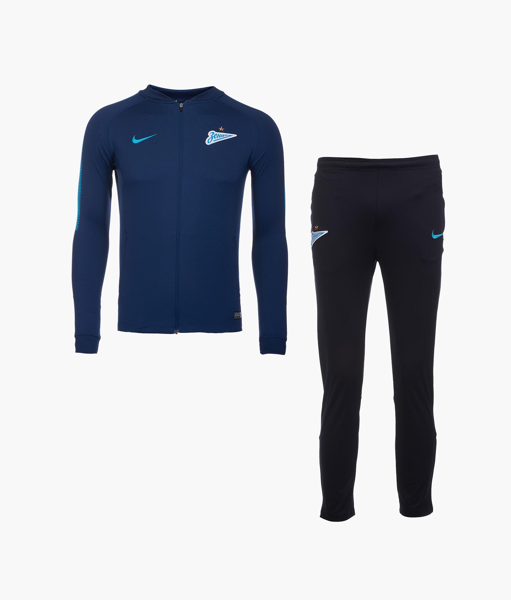 Костюм подростковый Nike Zenit сезона 2018/19 Nike лонгслив спортивный nike nike ni464ewaagy1