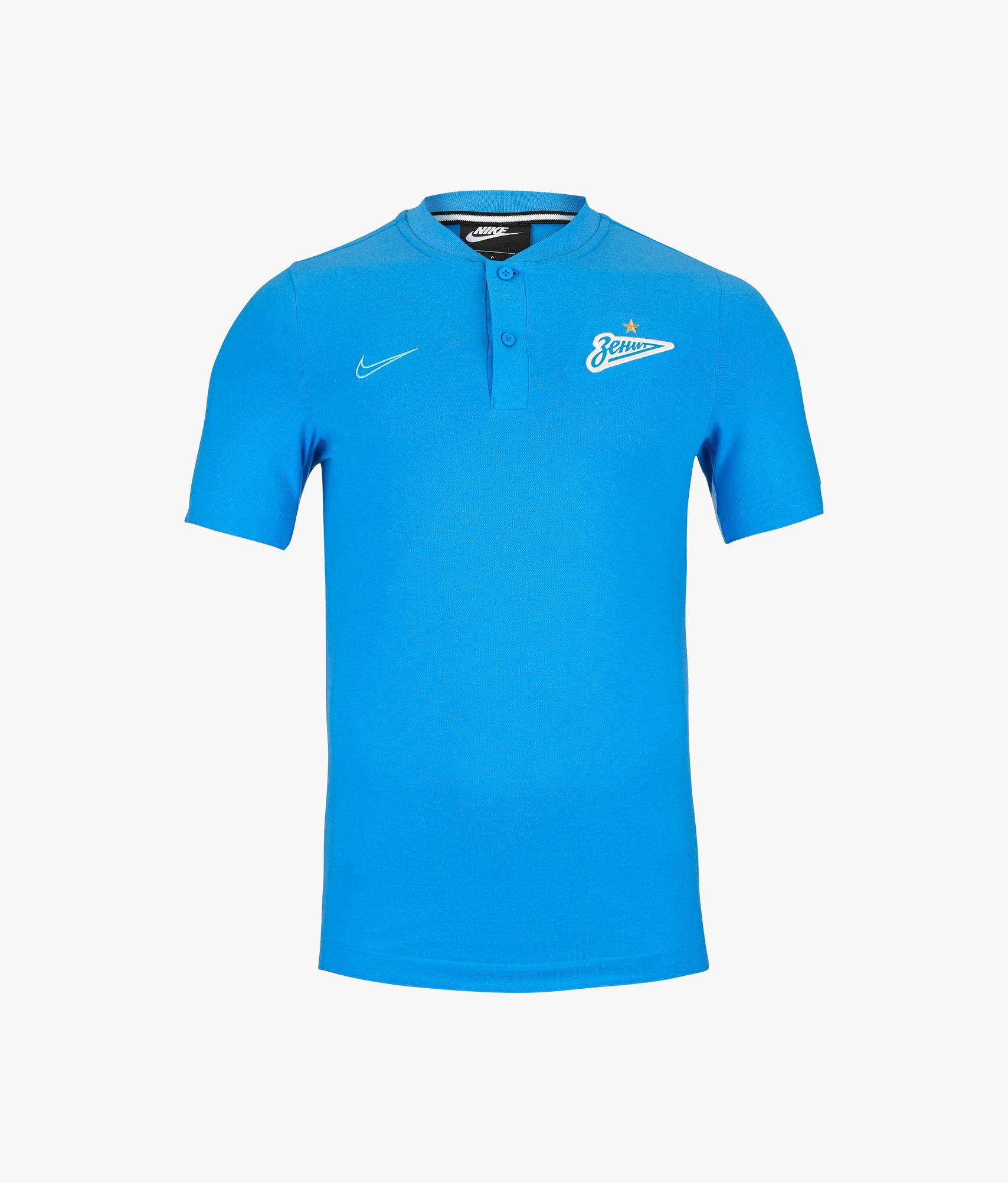цена Поло Nike Zenit сезона 2019/20 Nike Цвет-Синий онлайн в 2017 году