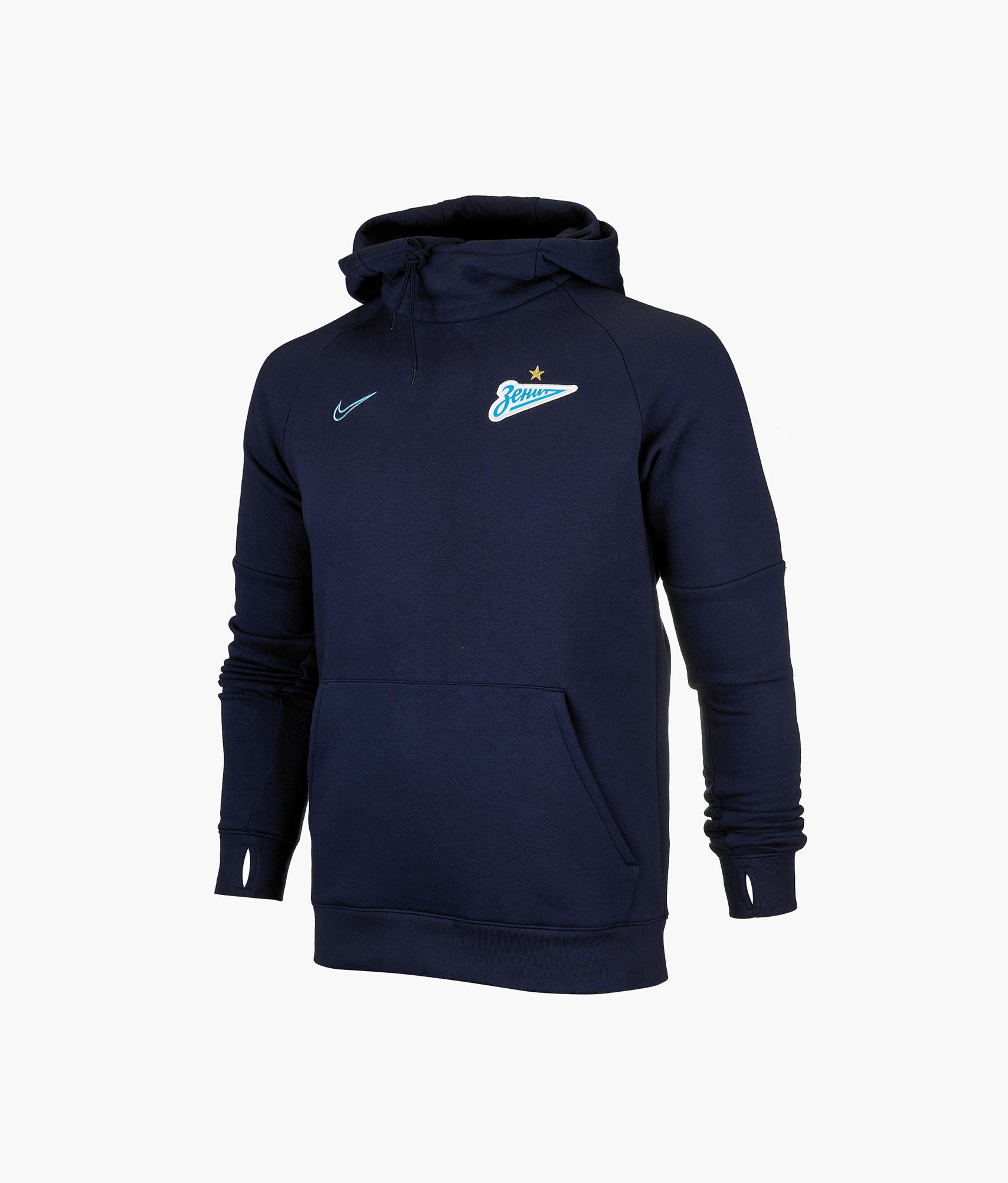 Толстовка Nike Zenit 2019/20 Nike Цвет-Темно-Синий цена 2017