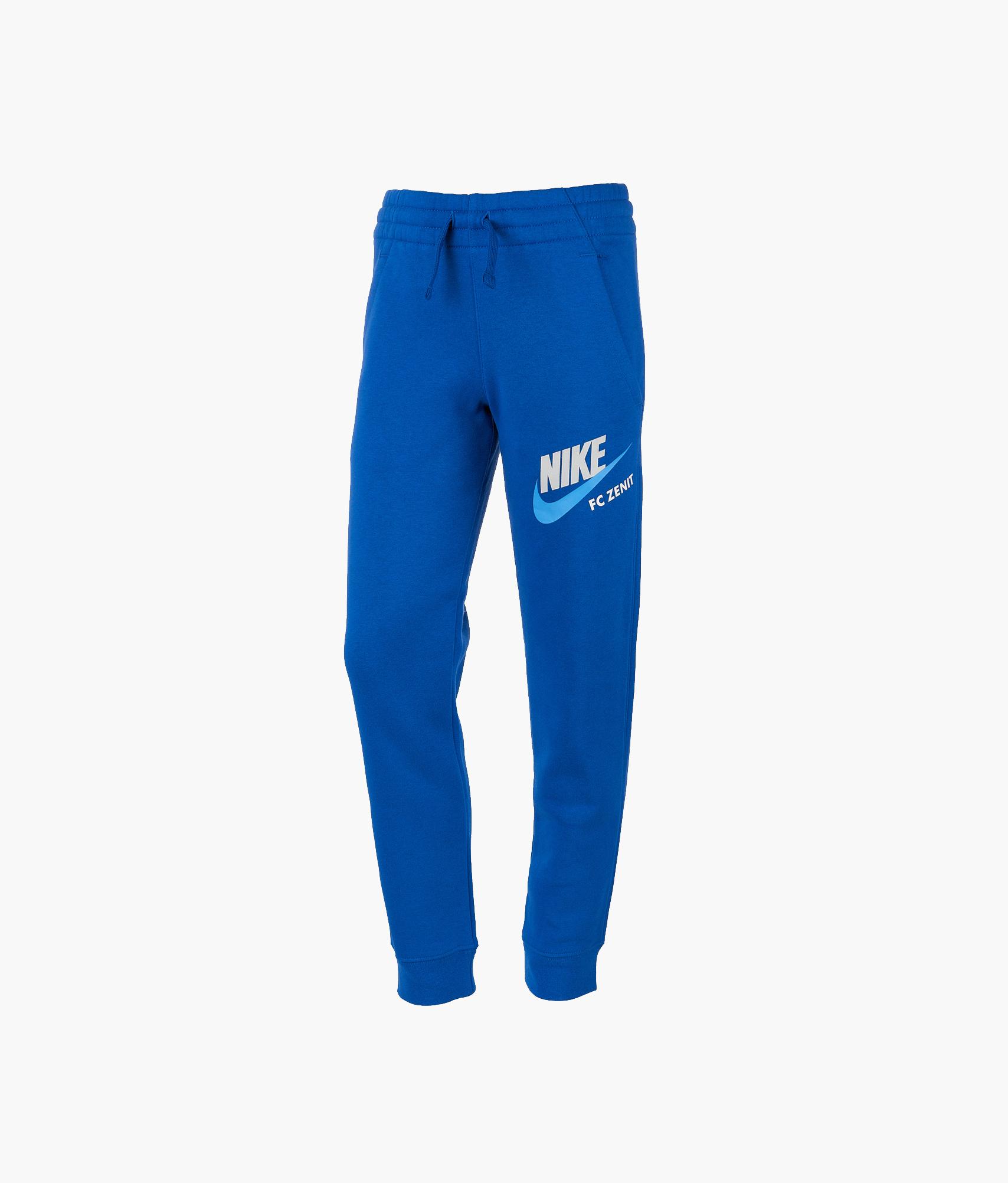 Брюки подростковые Nike Nike Цвет-Синий цена и фото