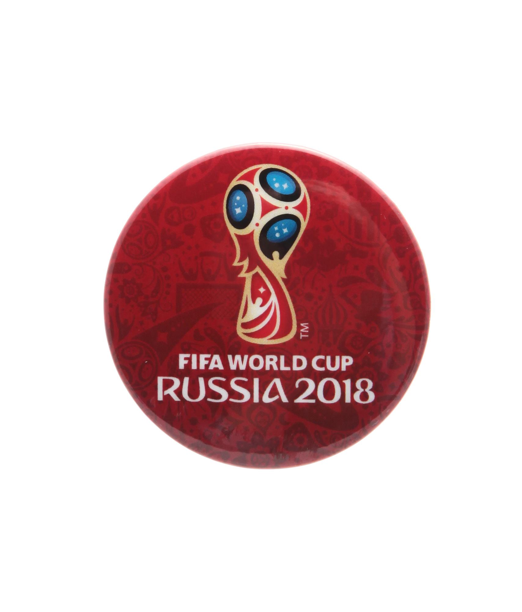 Значок закатной «Эмблема Чемпионата мира 2018» Зенит значок закатной забивака зенит цвет красный