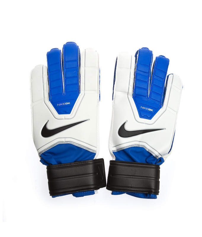 Перчатки футбольные NIKE GK JR. GRIP, Цвет-Сине-Белый, Размер-4