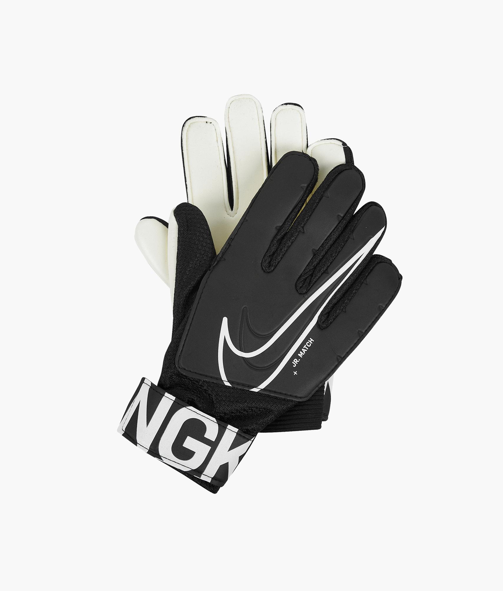 Перчатки вратарские детские Nike Nike Цвет-Черный