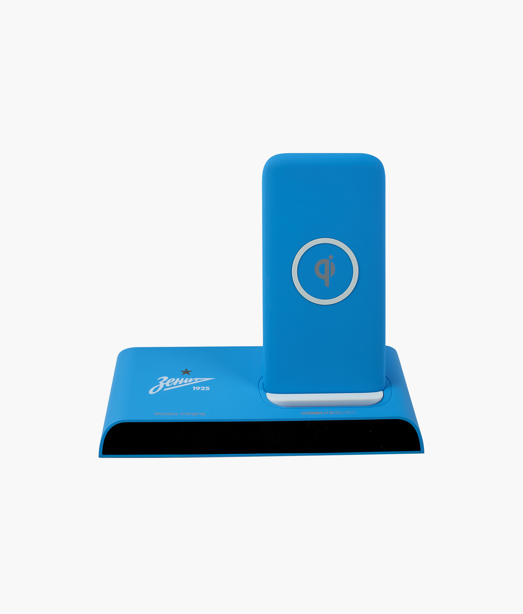 Фото - Внешний аккум 10000 мАч с док станцией Zenit (голубой) Зенит Цвет-Голубой внешний аккумулятор зенит 3000 мач