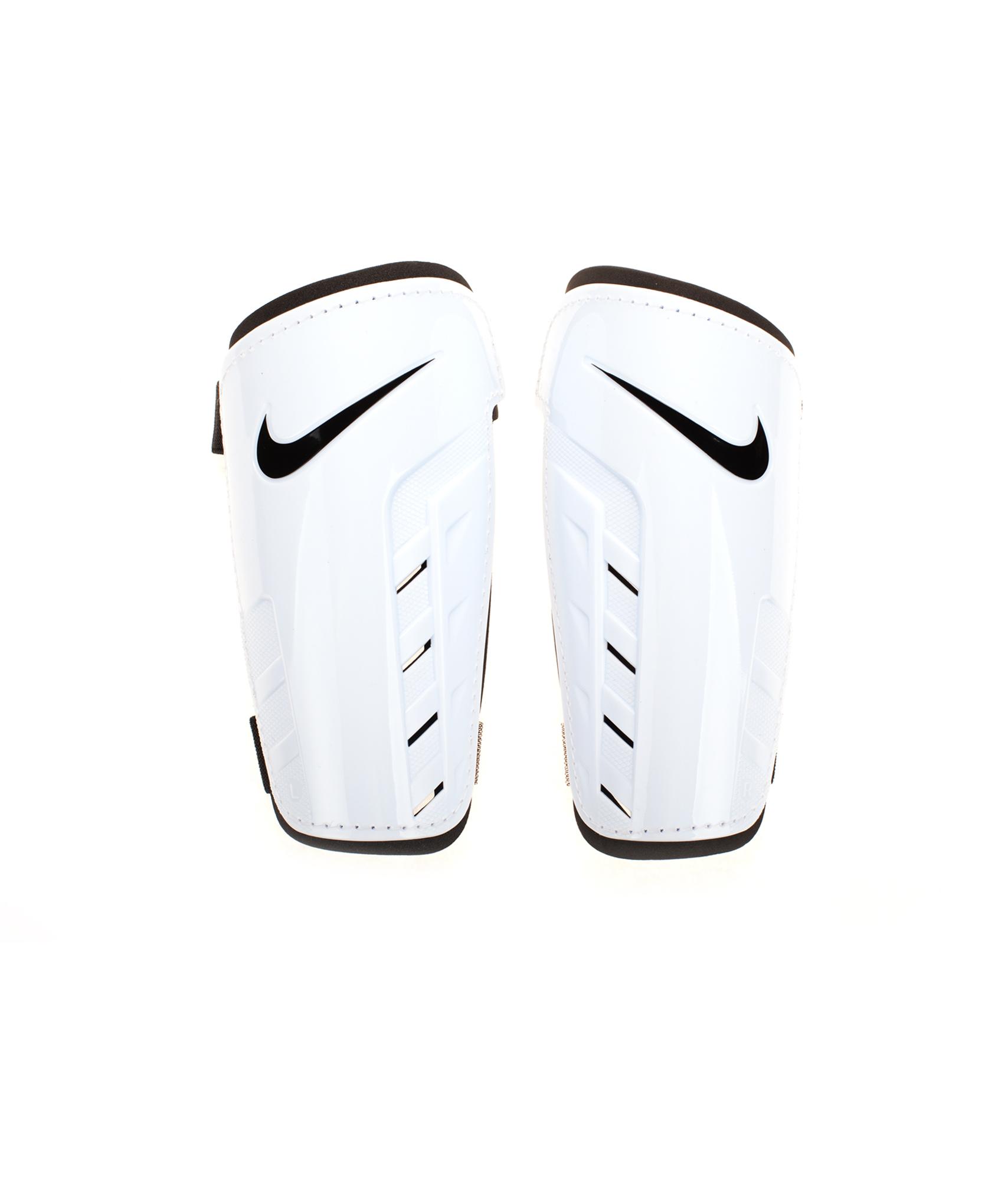 Щитки Nike, Цвет-Белый, Размер-L чулок д щитков nike guard lock elite sleeve su12 se0173 011 l чёрный