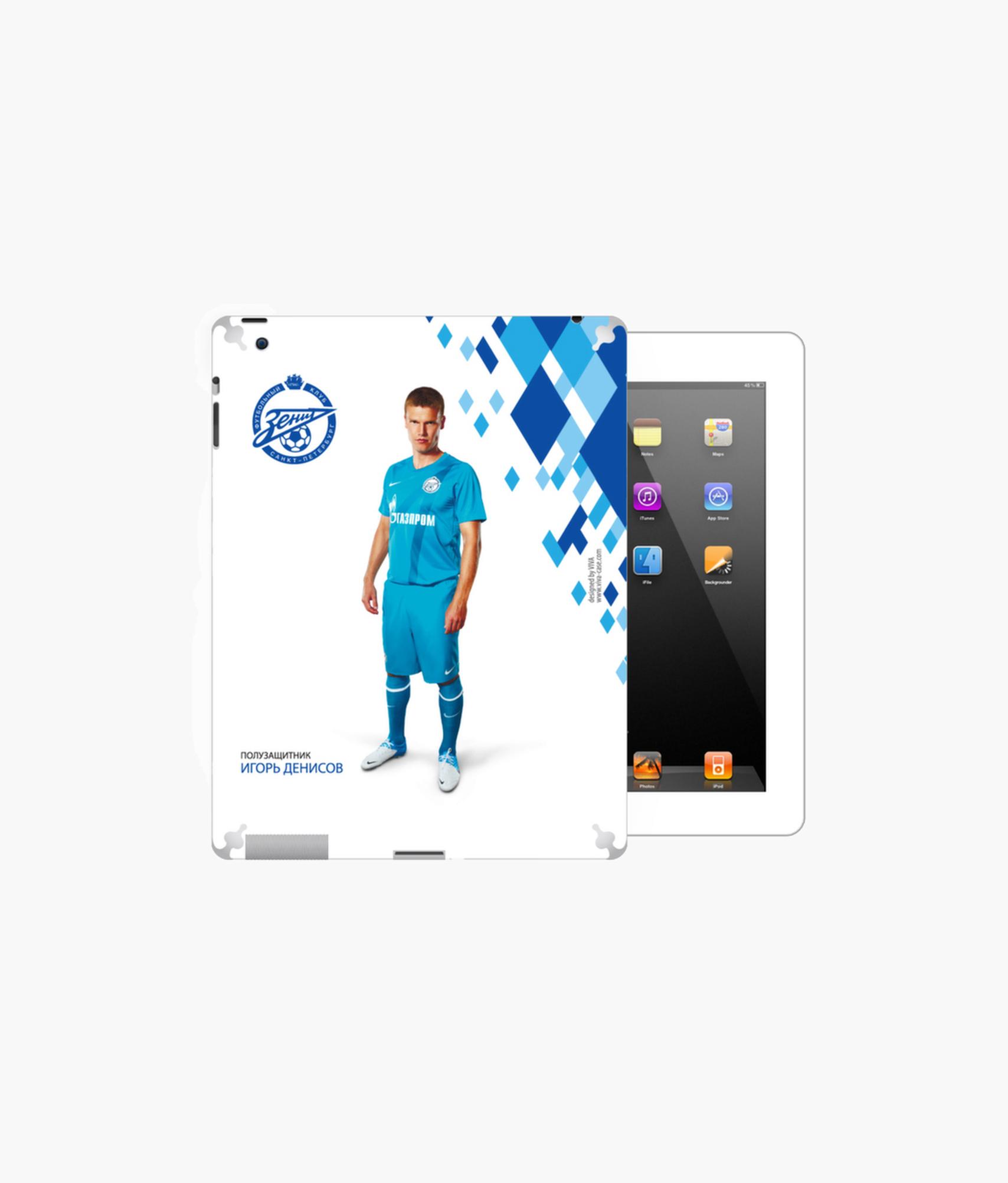 Фото - Наклейка на iPad/2/3/4 «Денисов» Зенит наклейка
